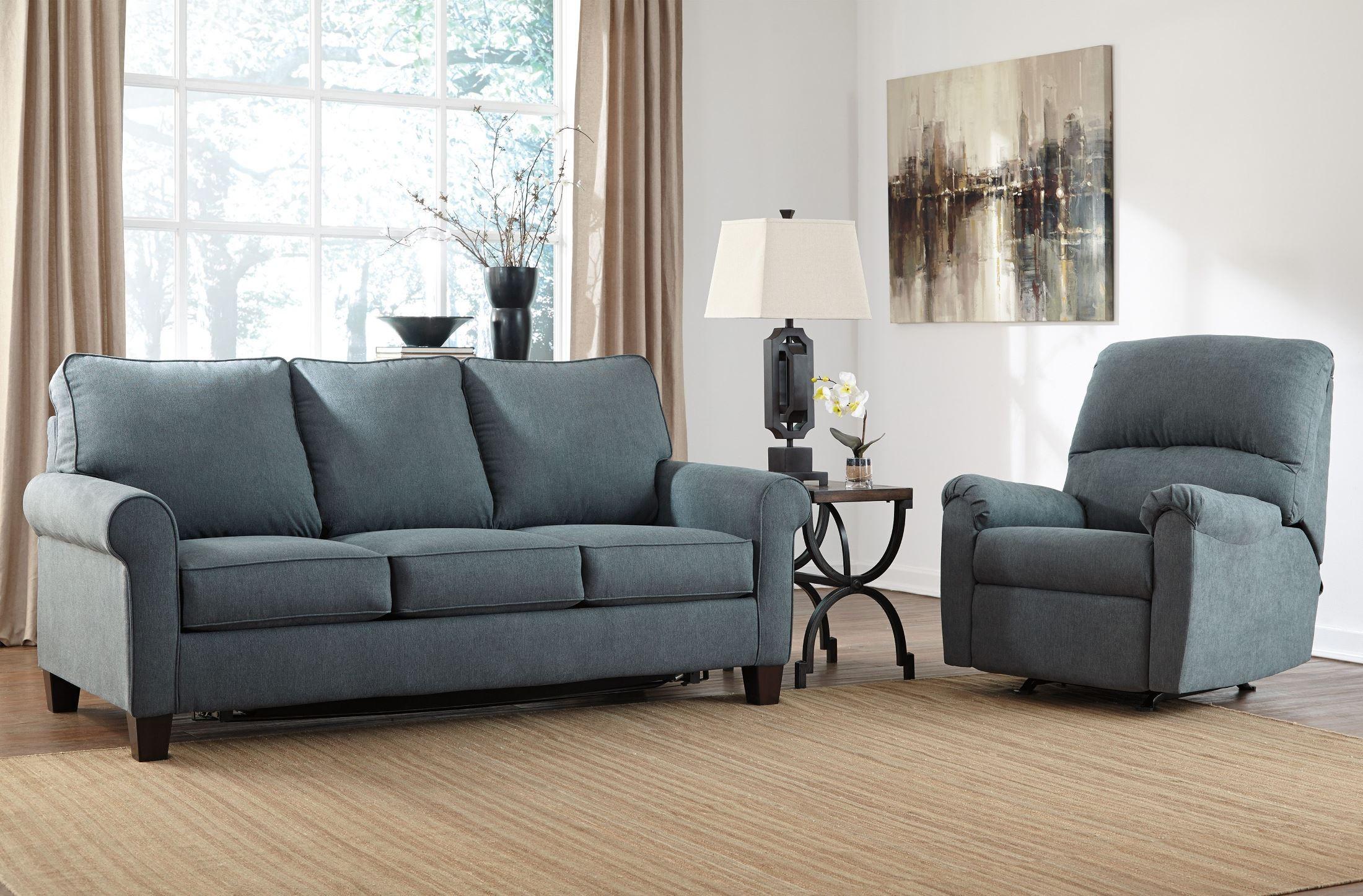 Zeth Denim Full Sofa Sleeper From Ashley 2710136