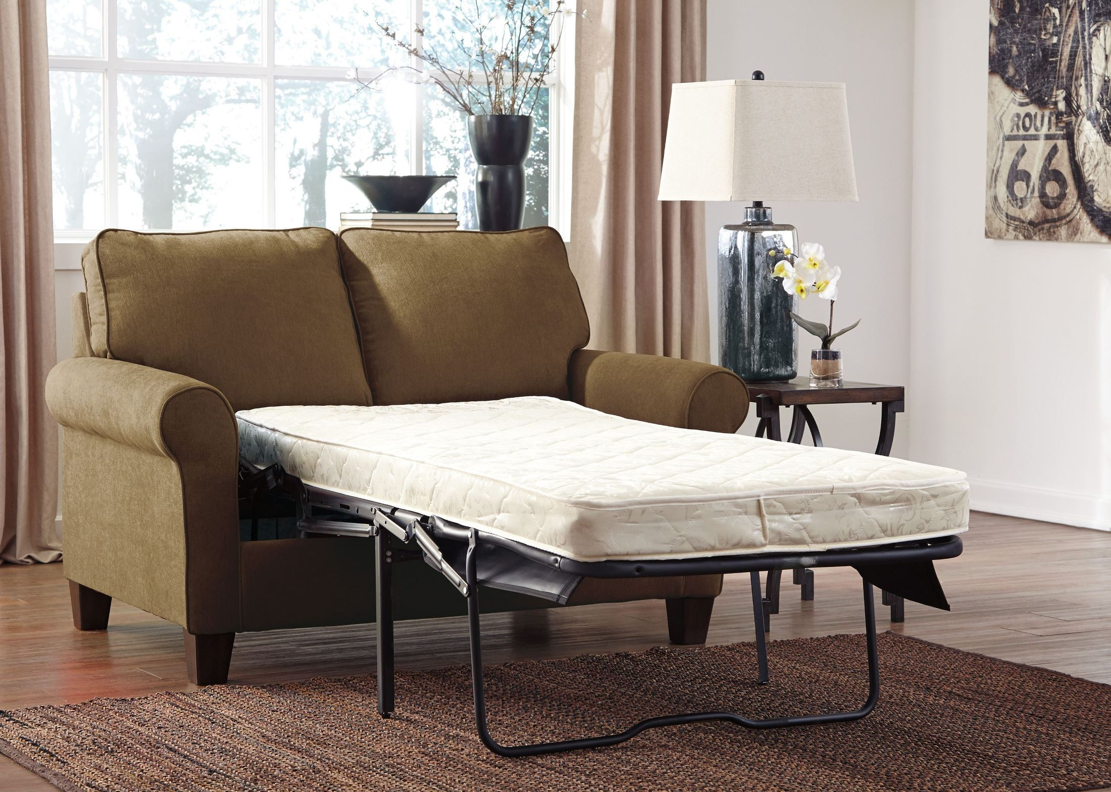 Zeth Basil Twin Sofa Sleeper from Ashley 2710337  : 27103 37 open from colemanfurniture.com size 2200 x 1567 jpeg 772kB