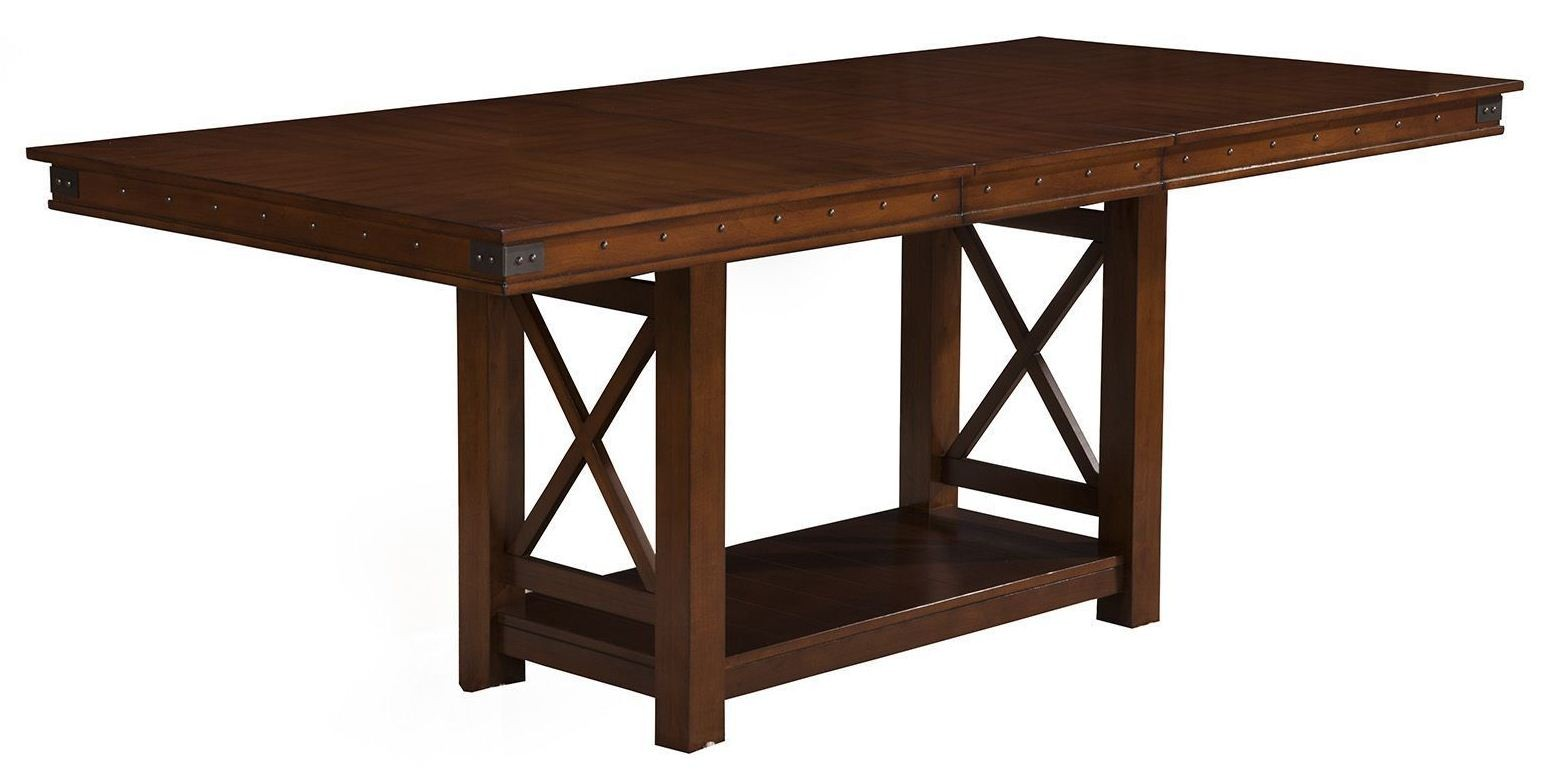 Artisan Pecan Extendable Counter Height Dining Table from  : 2727 01 from colemanfurniture.com size 1547 x 776 jpeg 103kB