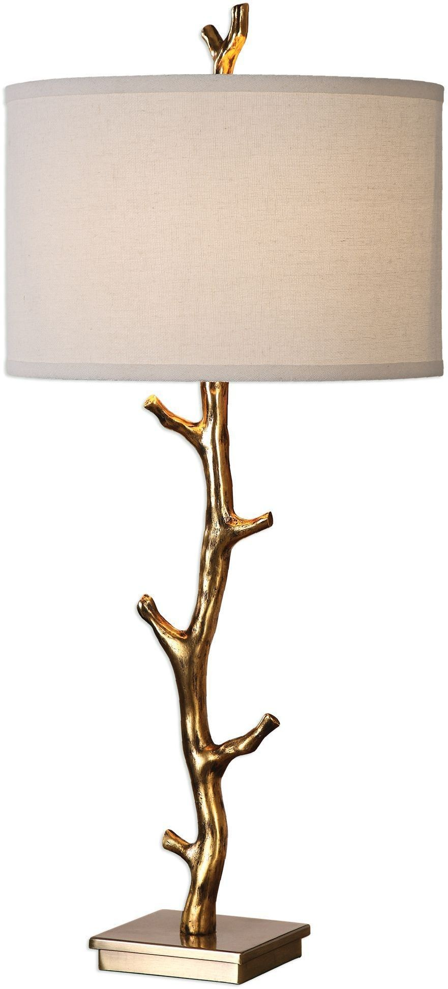 Javor Gold Tree Branch Table Lamp From Uttermost Coleman Furniture