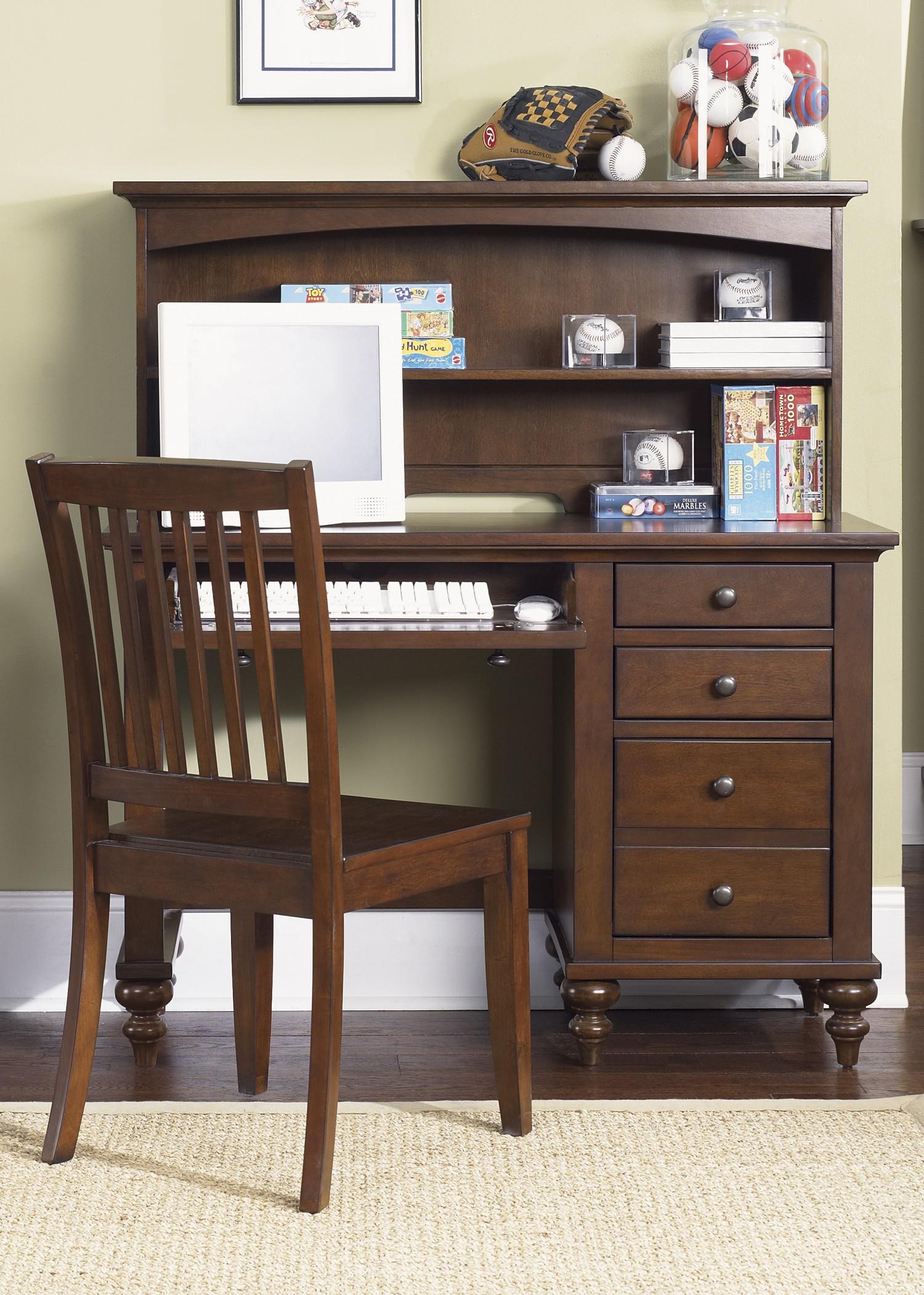 Abbott Ridge Student Desk With Hutch From Liberty 277 Ybr