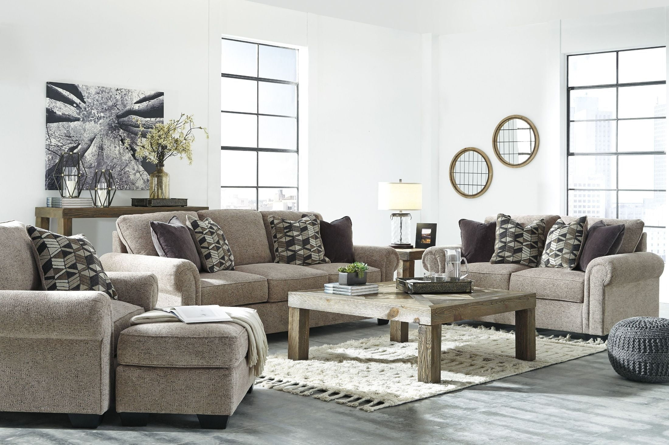 Fehmarn Brown Living Room Set from Ashley | Coleman Furniture
