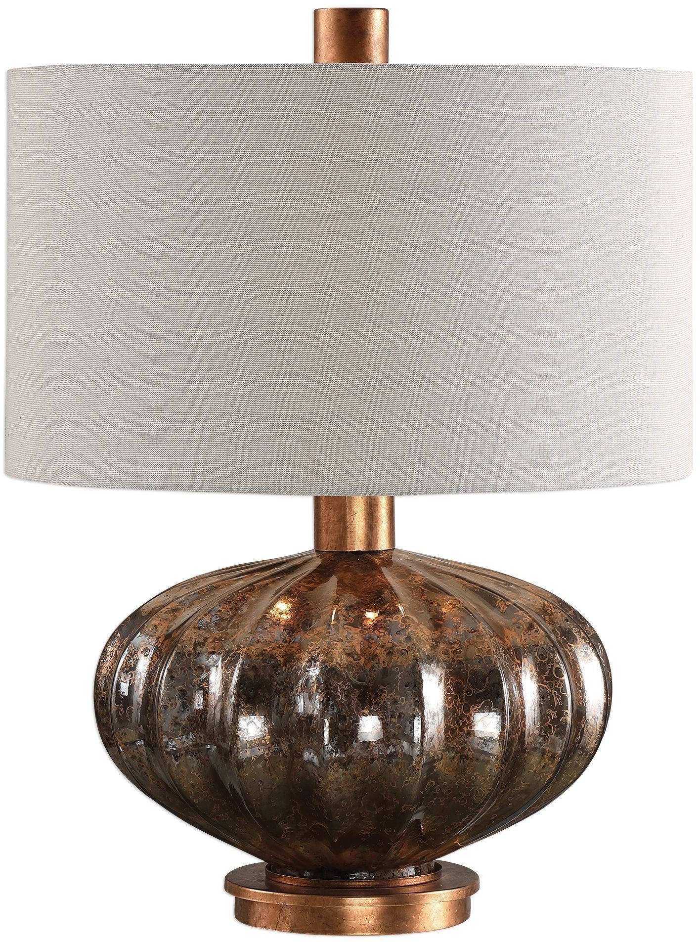 Dragley Bronze Mercury Glass Lamp From Uttermost Coleman Furniture