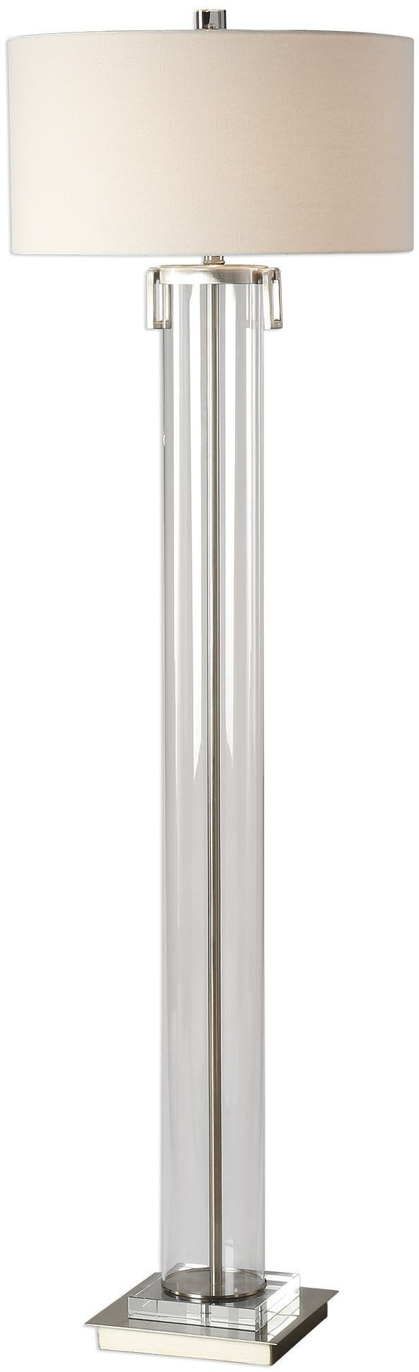Monette tall cylinder floor lamp from uttermost coleman for 7 foot tall floor lamp