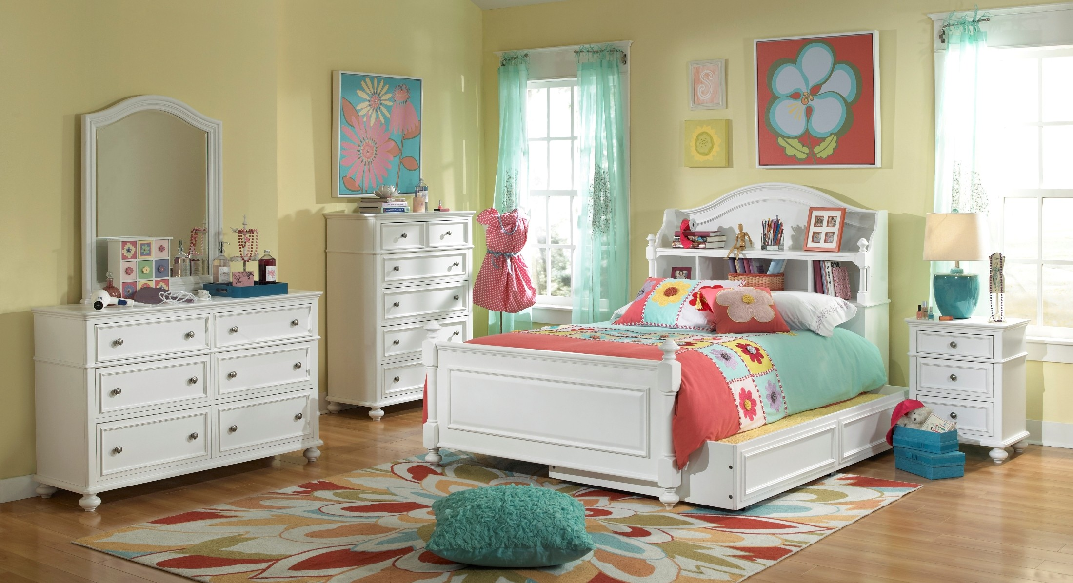 Madison Bookcase Bedroom Set From Legacy Kids