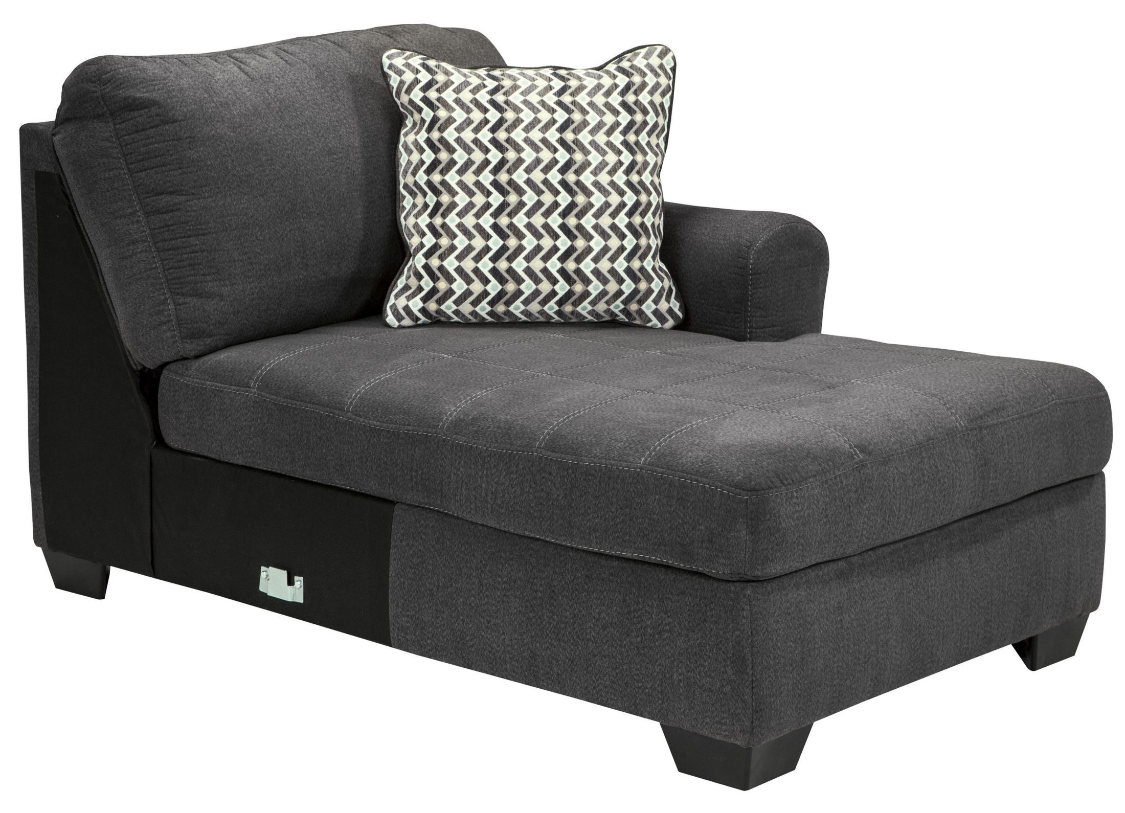 Sorenton Slate Laf Sectional From Ashley 2860016 Coleman Furniture