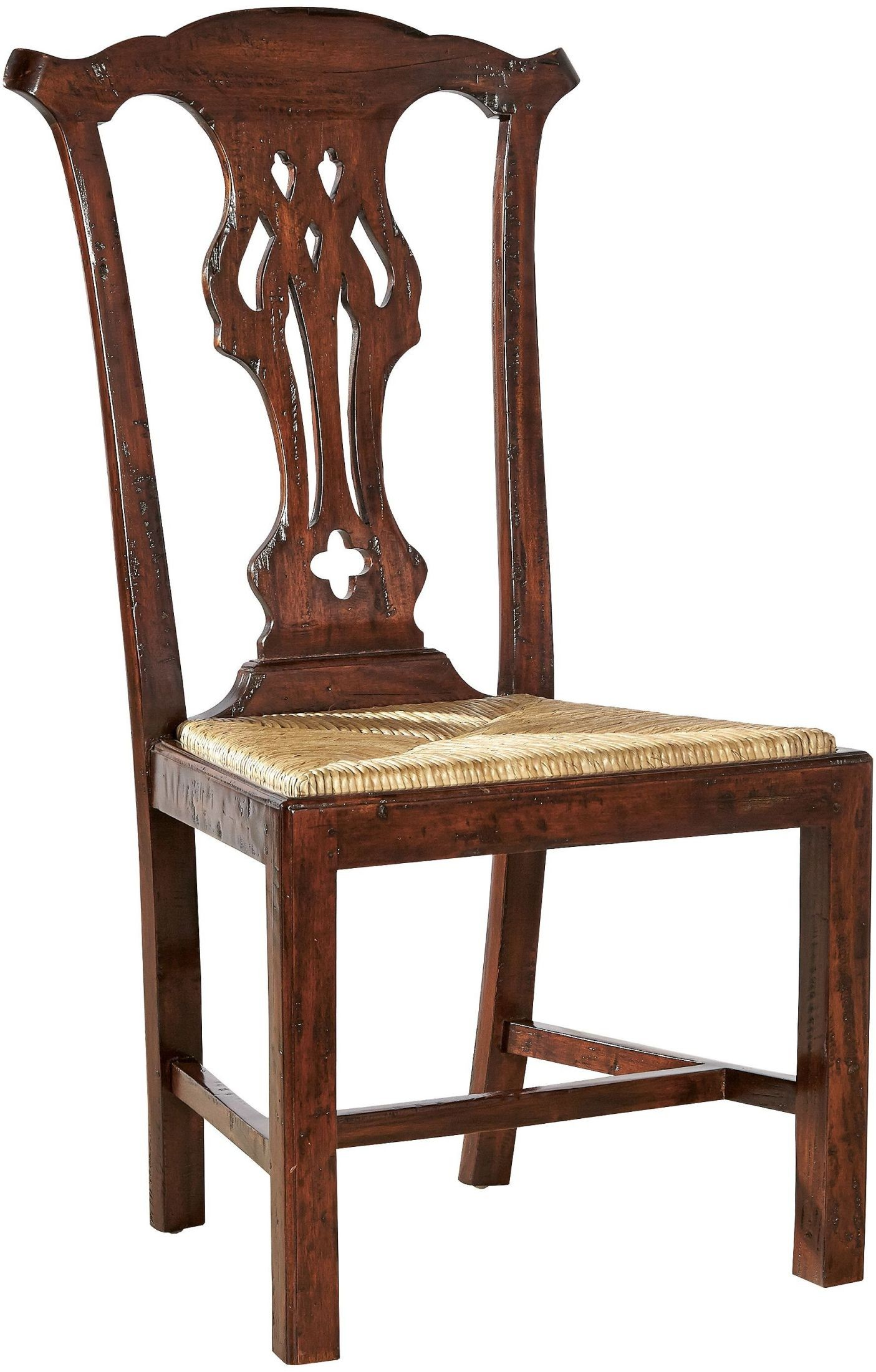 English country brown side chair set of 2 from furniture for English country furniture