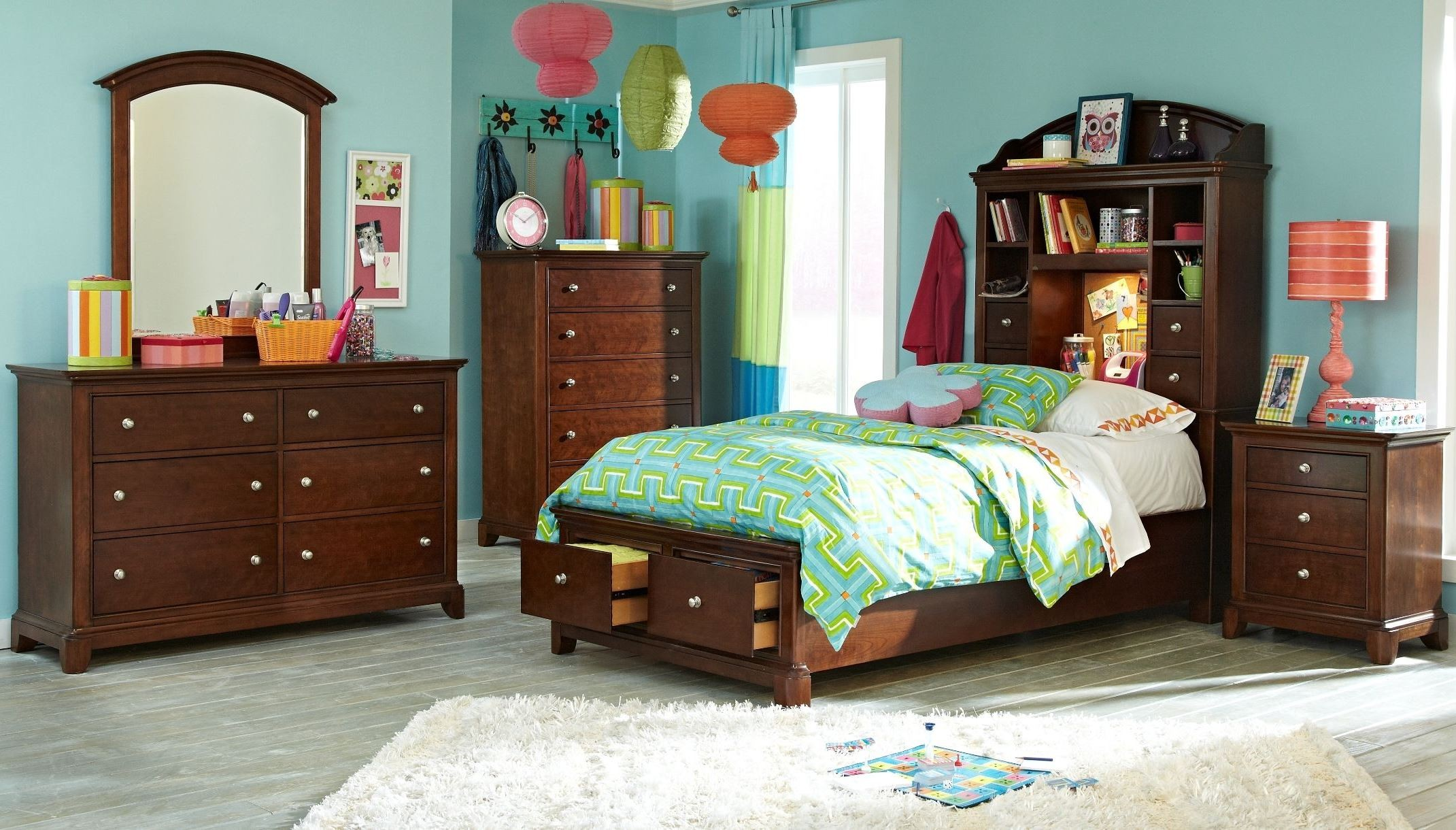 Impressions Storage Bookcase Bedroom Set From Legacy Kids Coleman Furniture