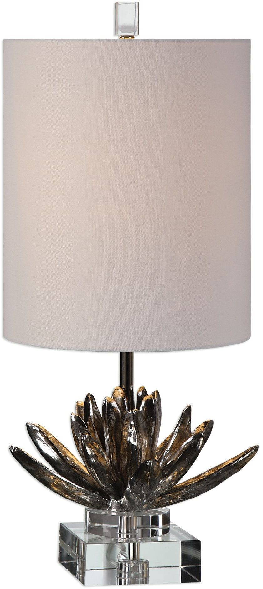 Silver Lotus Accent Lamp From Uttermost Coleman Furniture
