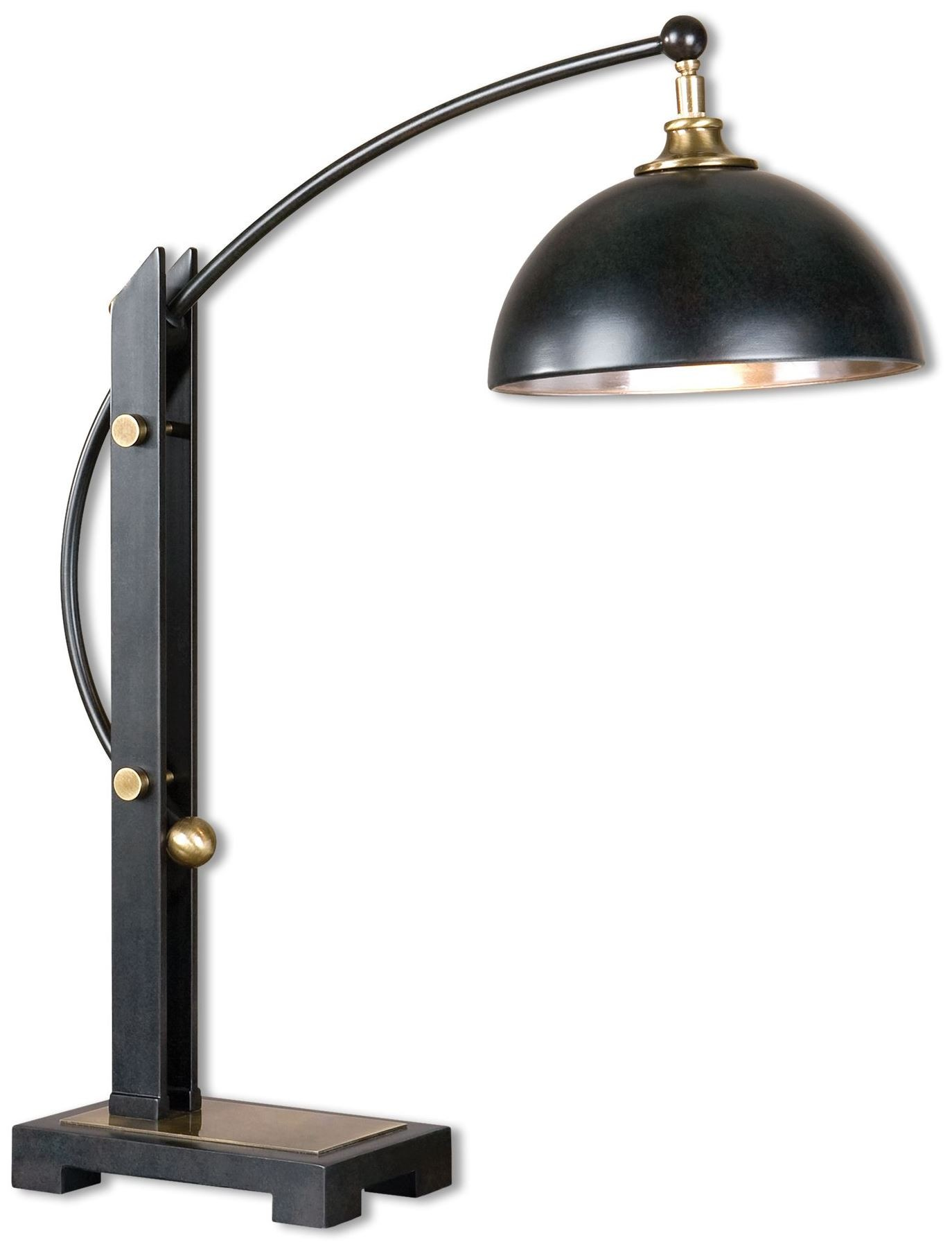 Oil Rubbed Bronze Chairs ~ Malcolm oil rubbed bronze desk lamp from uttermost