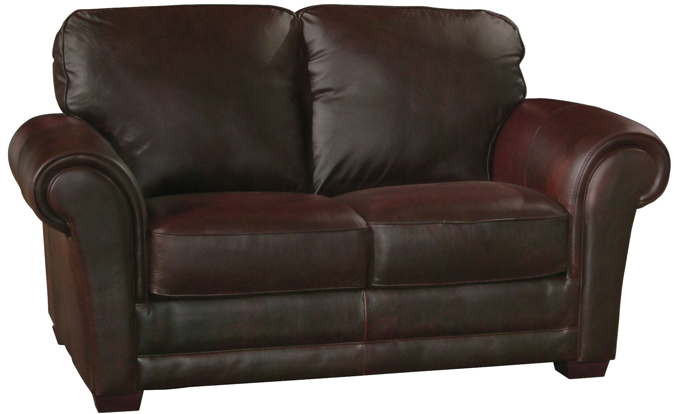 Mark Italian Leather Loveseat From Luke Leather Coleman Furniture