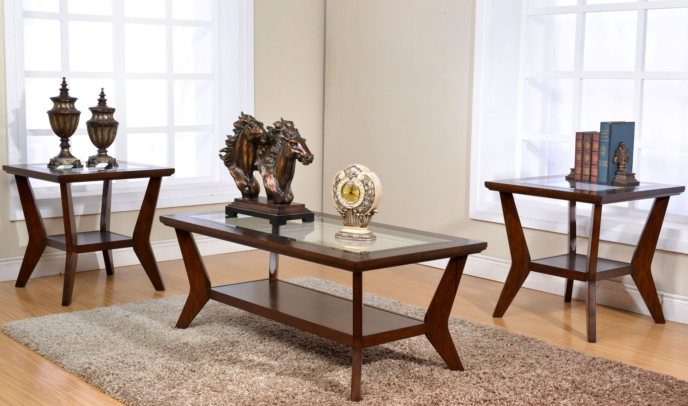 Bryant Sable 3 Piece Occasional Table Set & Bryant Sable 3 Piece Occasional Table Set from New Classic   Coleman ...