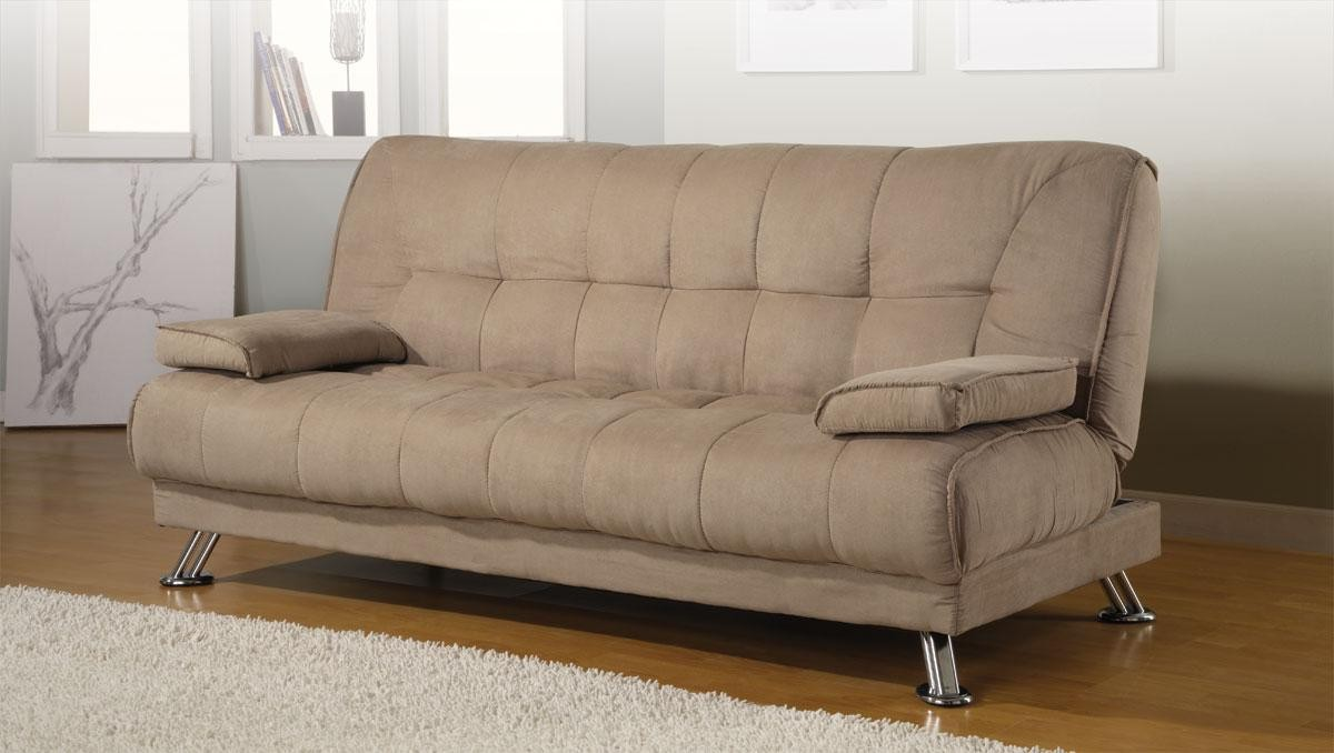 Convertible sofa bed removable armrests from coaster for Couch converts to bunk bed price
