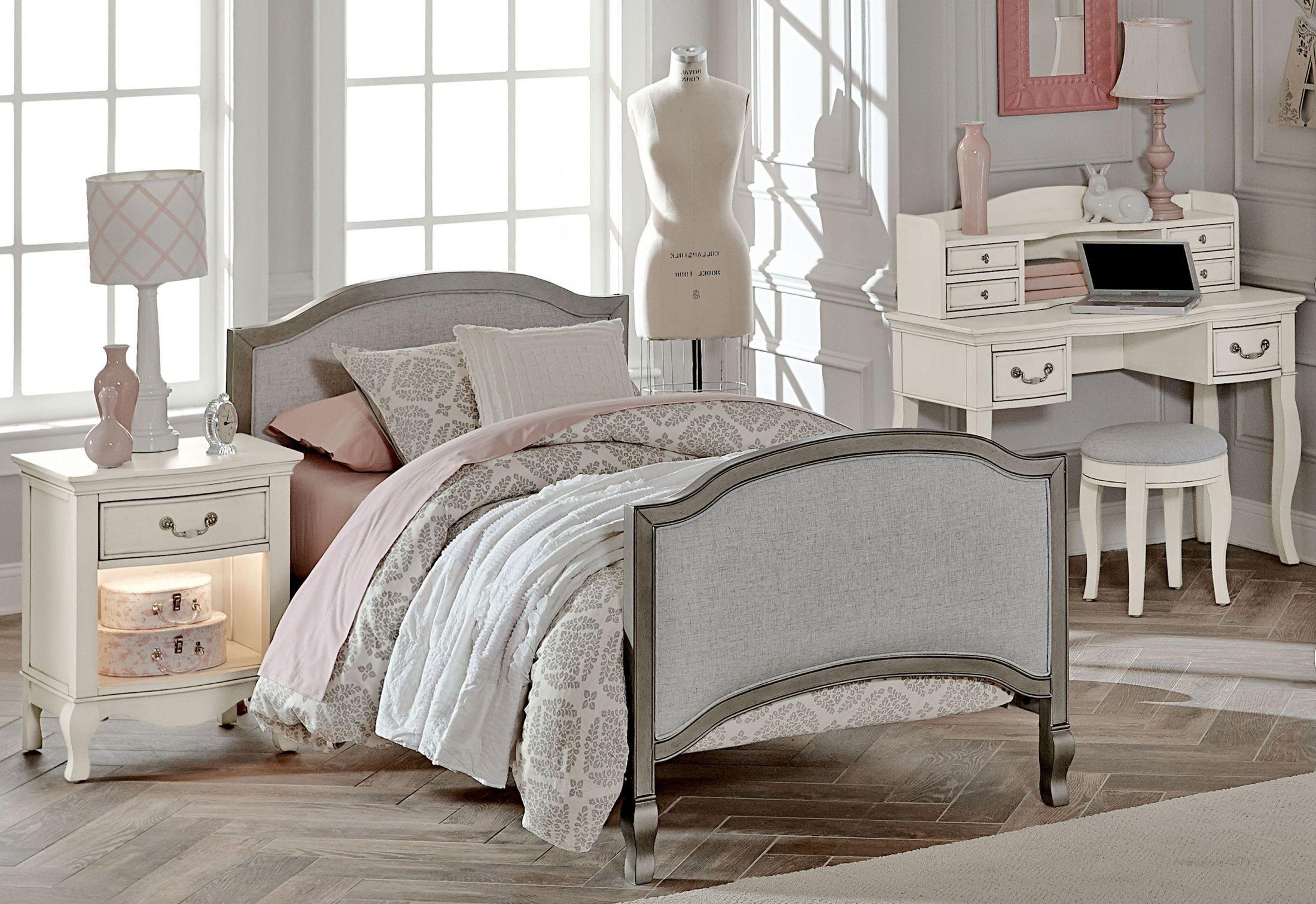 Genial Kensington Antique Silver Victoria Youth Panel Bedroom Set From NE Kids |  Coleman Furniture