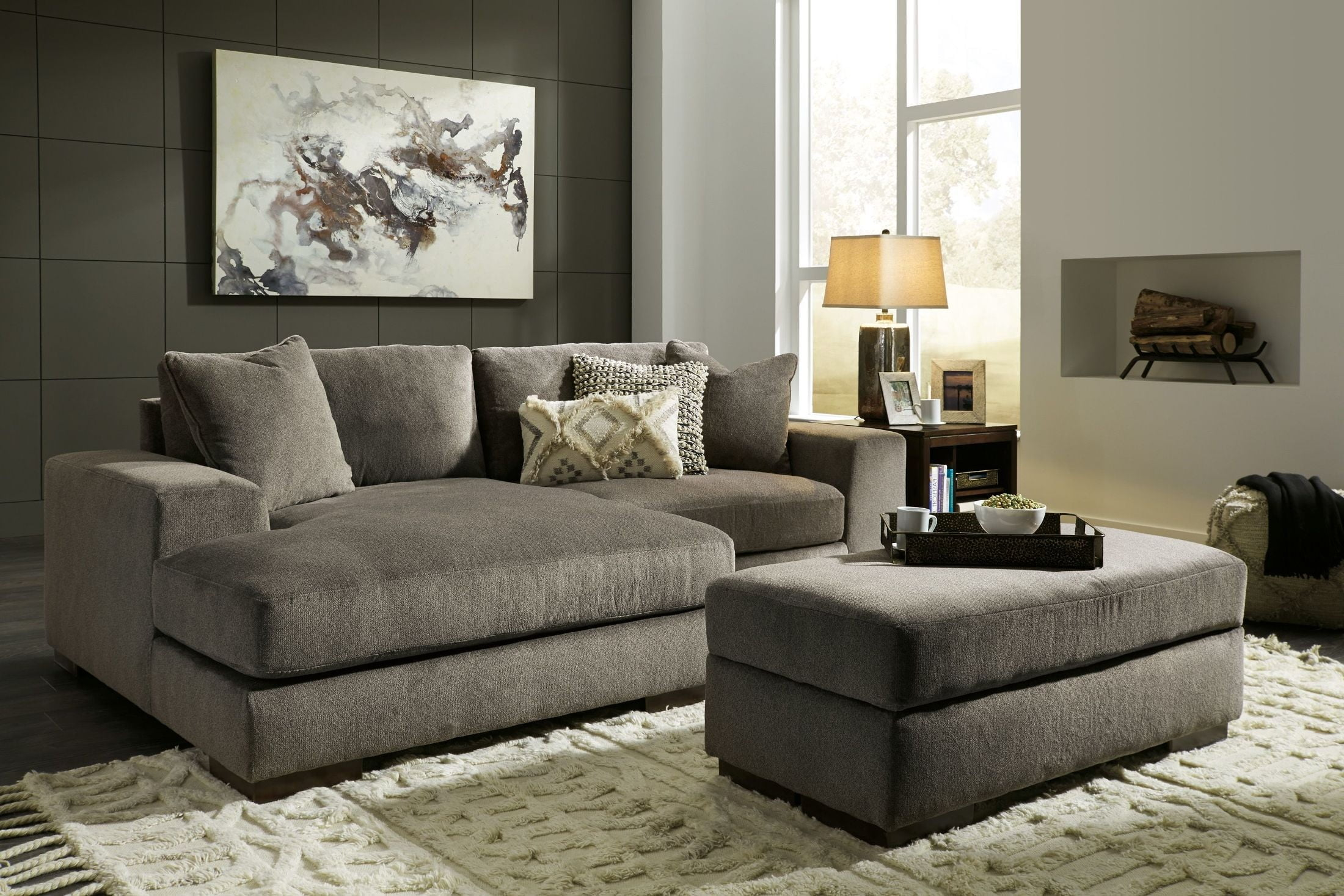 Manzani Gray Laf Sectional From Ashley Coleman Furniture
