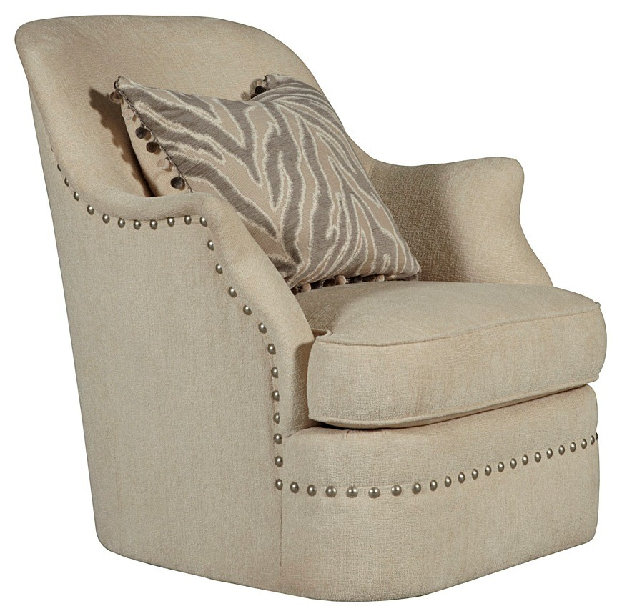Phenomenal Cotswold Amanda Ivory Swivel Chair Alphanode Cool Chair Designs And Ideas Alphanodeonline