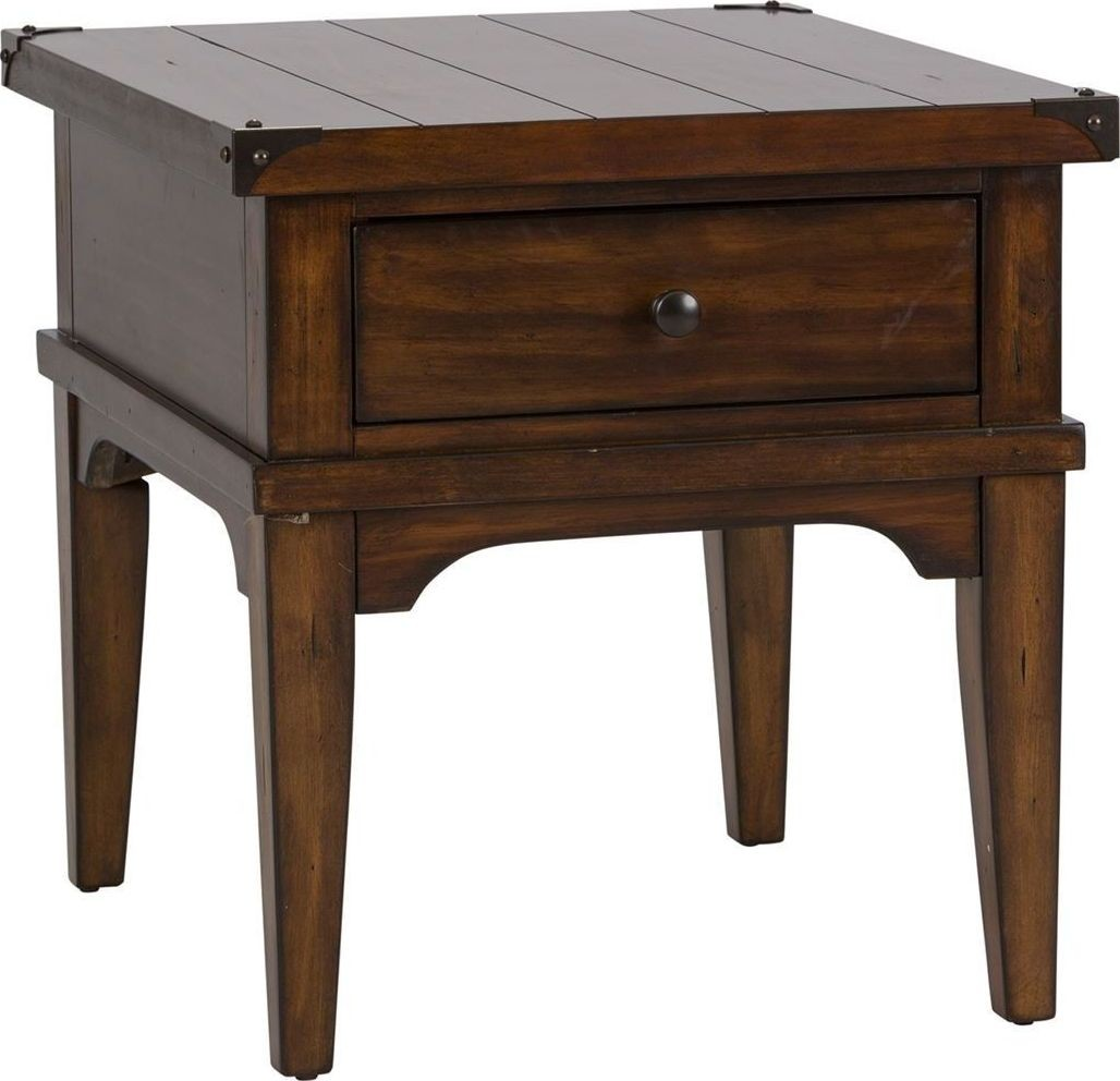 Aspen Skies End Table From Liberty 316 Ot1020 Coleman