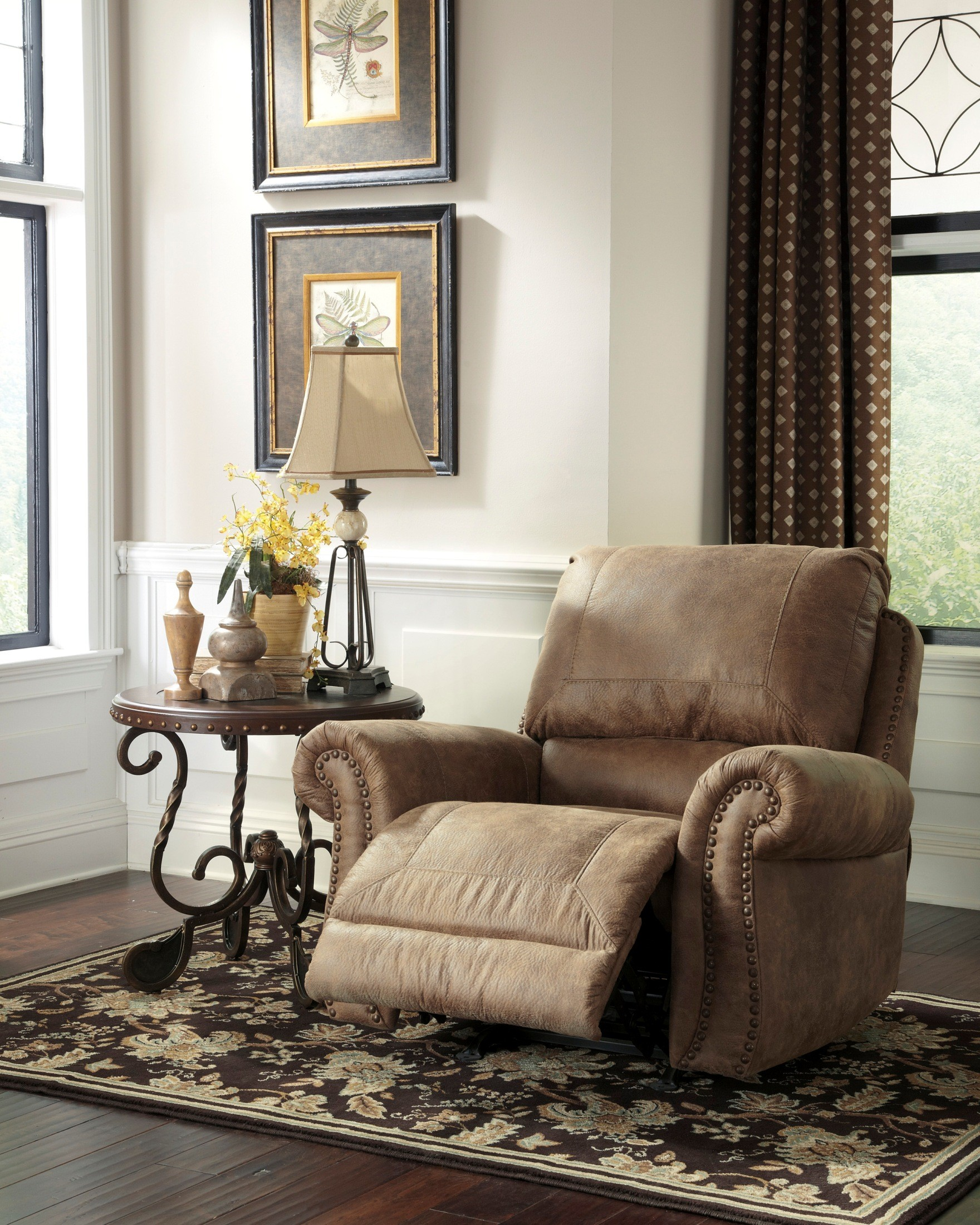 Larkinhurst Earth Rocker Recliner From Ashley 3190125