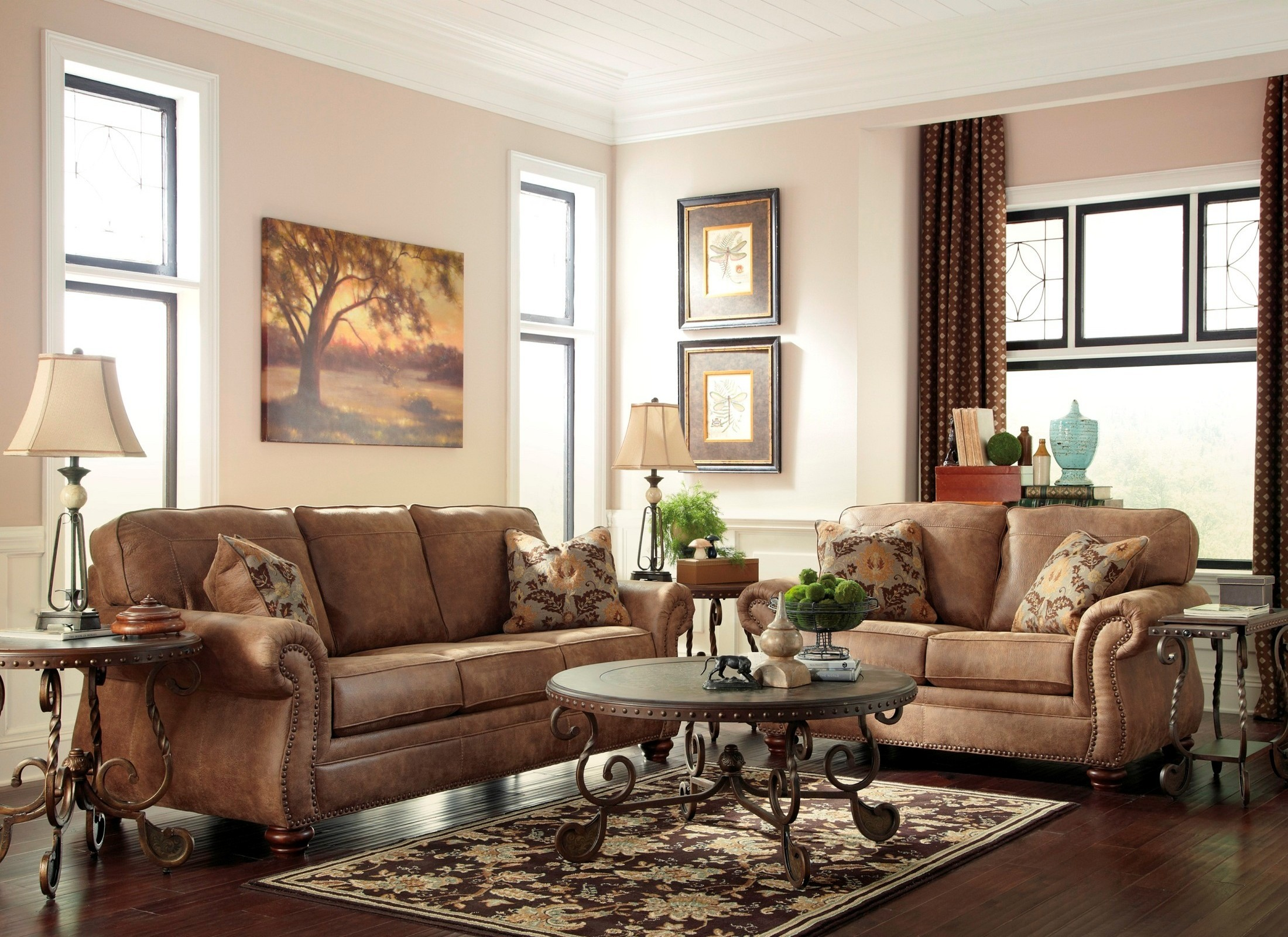 Rafferty occasional table set from ashley t382 coleman furniture 2302223 geotapseo Image collections