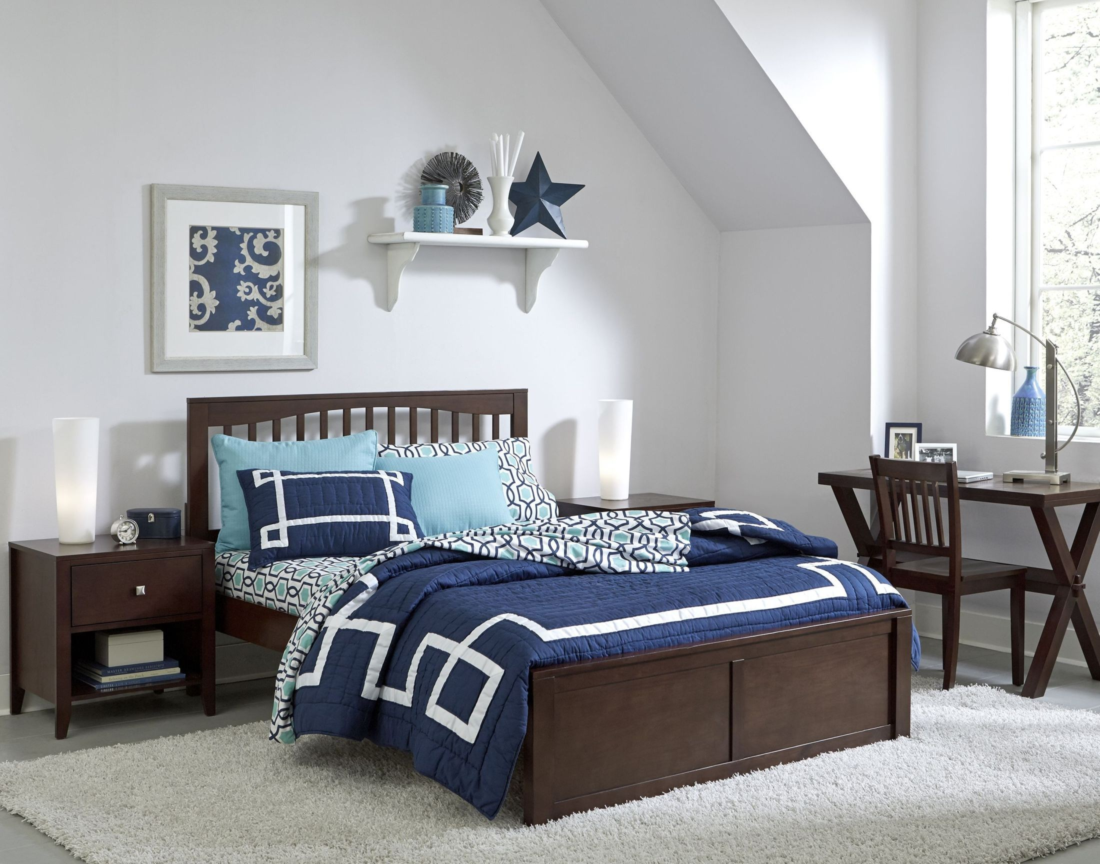 Pulse Chocolate Mission Panel Bedroom Set From Ne Kids Coleman Furniture