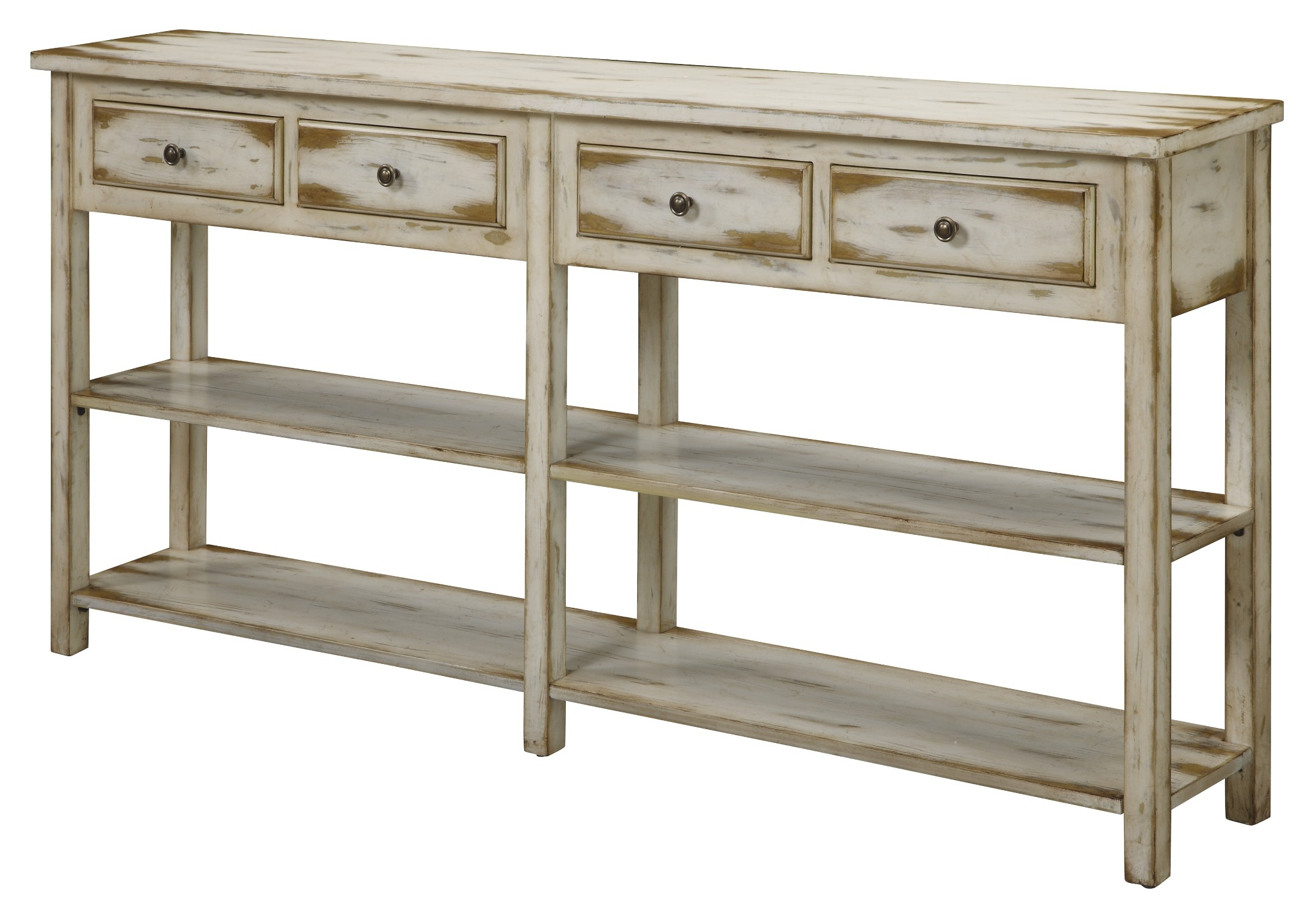 Four drawer console 32062 from coast to coast 32062 for 10 inch sofa table