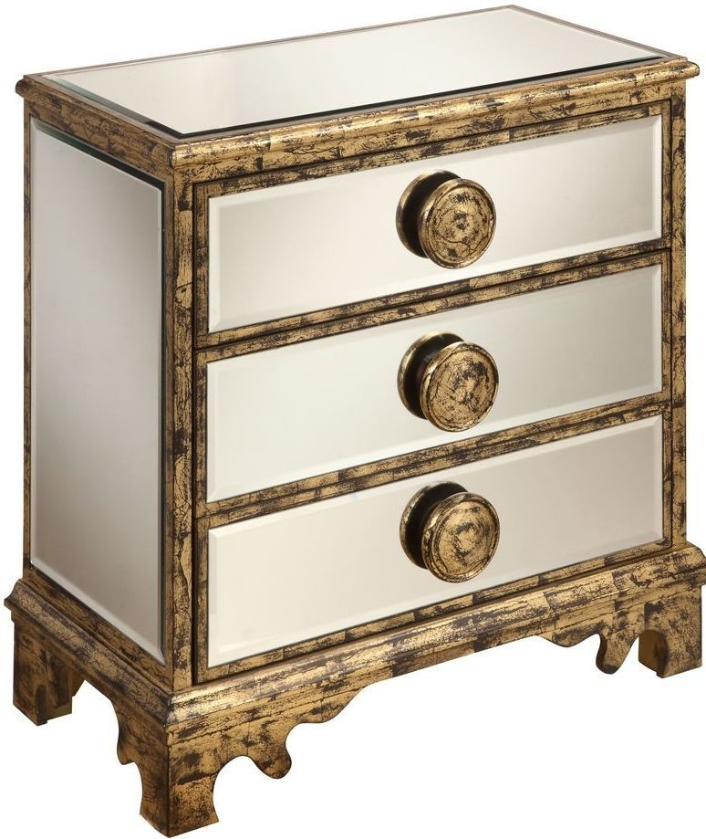 Azen Mirror And Antique Gold Chest From Coast To Coast