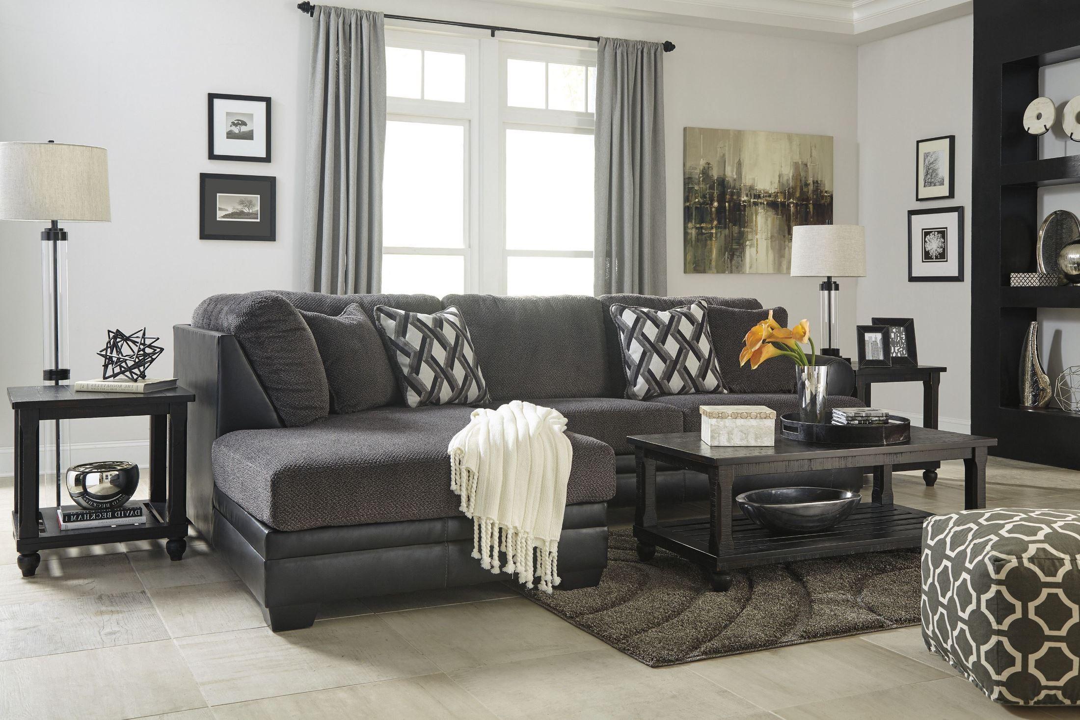 Kumasi Smoke Laf Sectional From Ashley Coleman Furniture