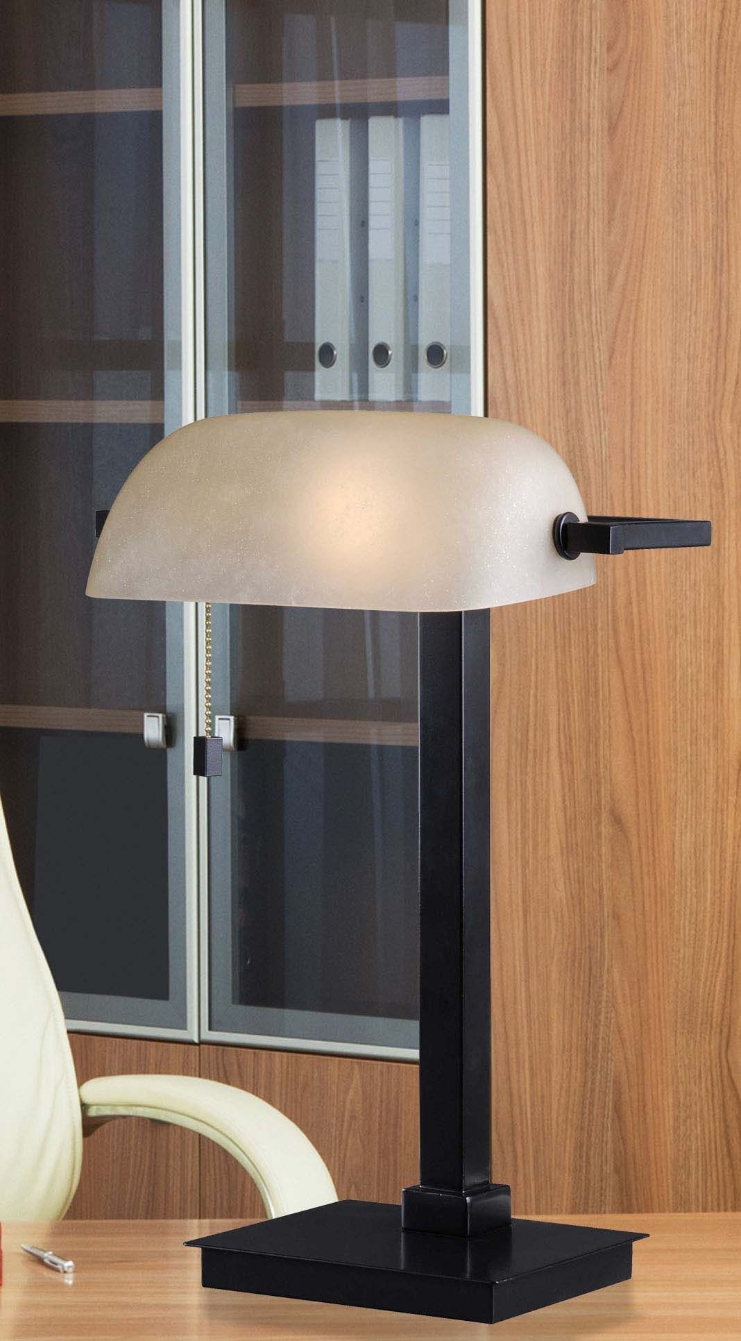 Wall Desk Lamps : Wall Street Oil Rubbed Bronze Desk Lamp from Kenroy (32305ORB) Coleman Furniture