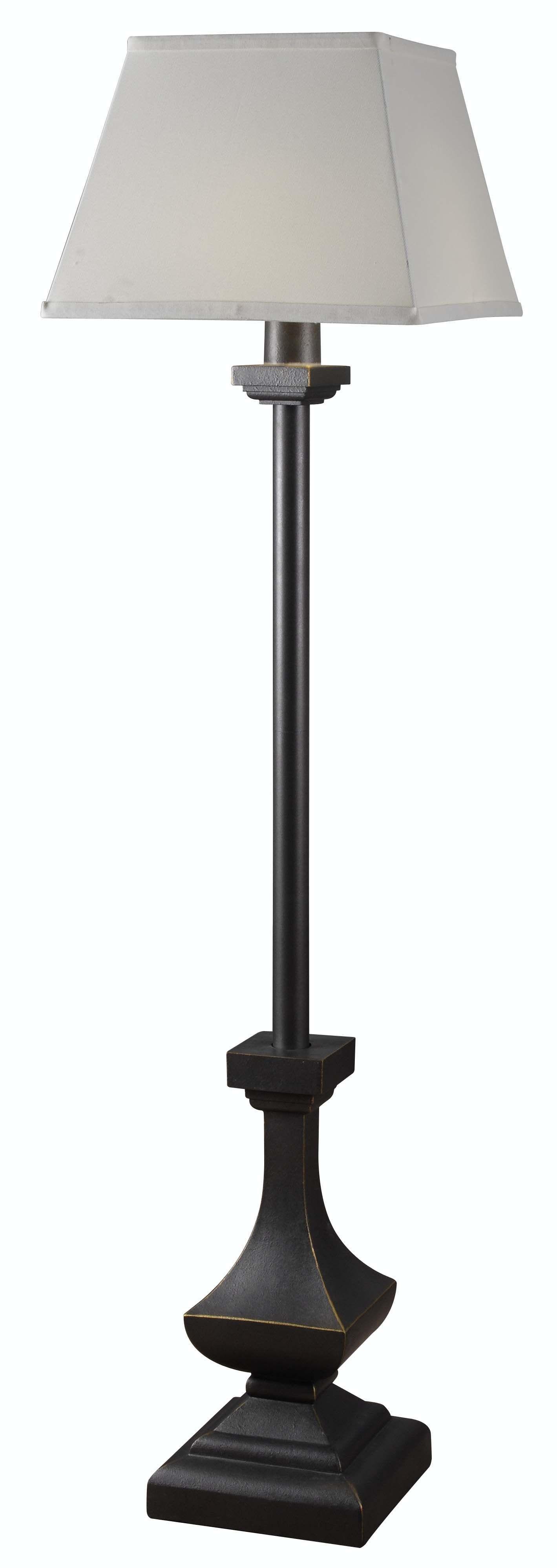 palladium outdoor solar floor lamp from kenroy 32571wbz. Black Bedroom Furniture Sets. Home Design Ideas