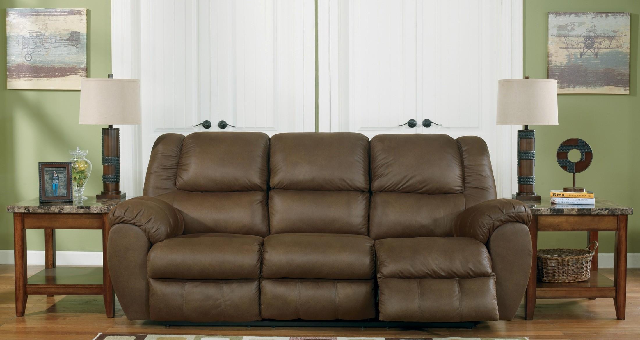 Quarterback Canyon Reclining Sofa From Ashley 3270188 Coleman Furniture