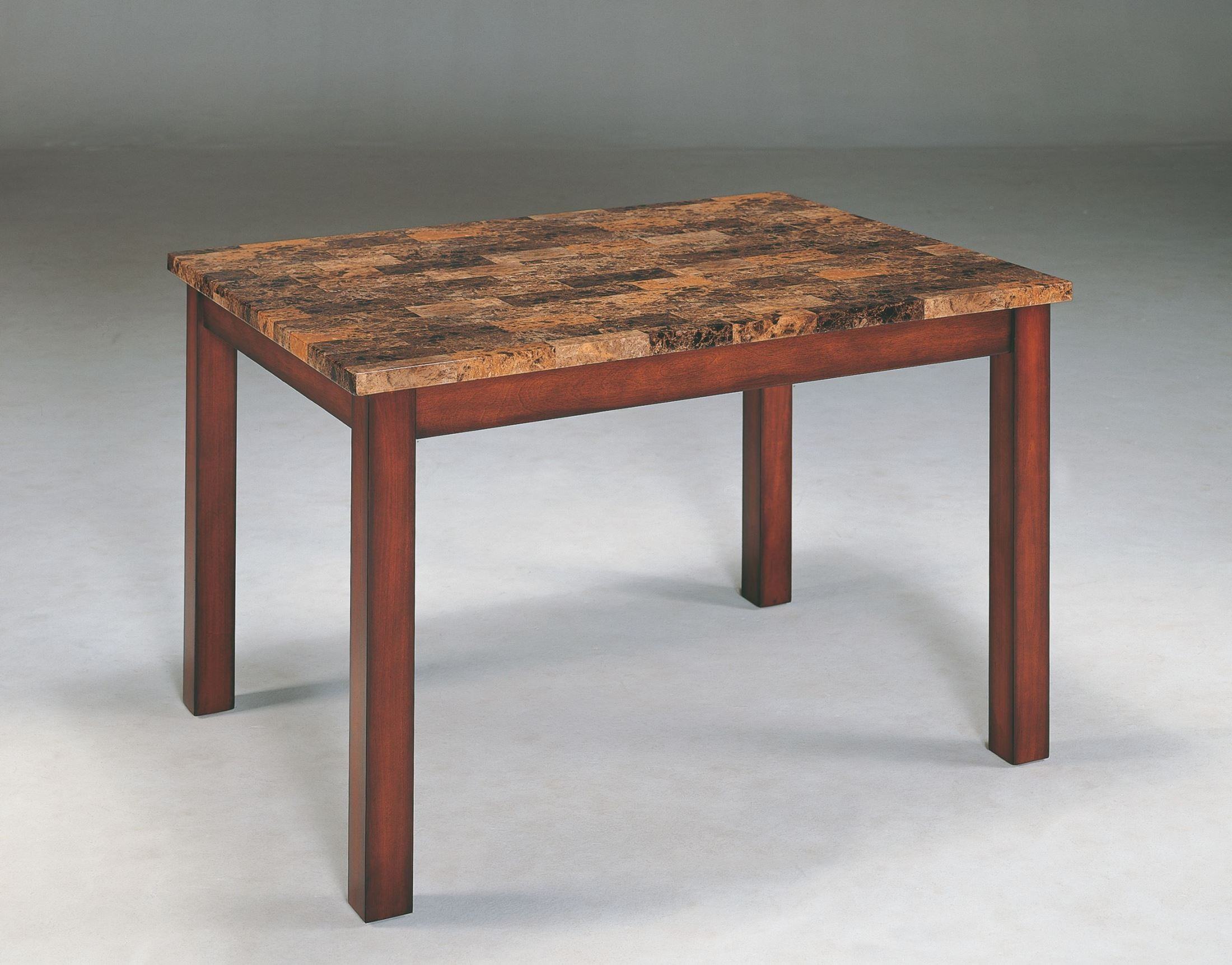 Achillea Faux Marble Dining Table from Homelegance 3273