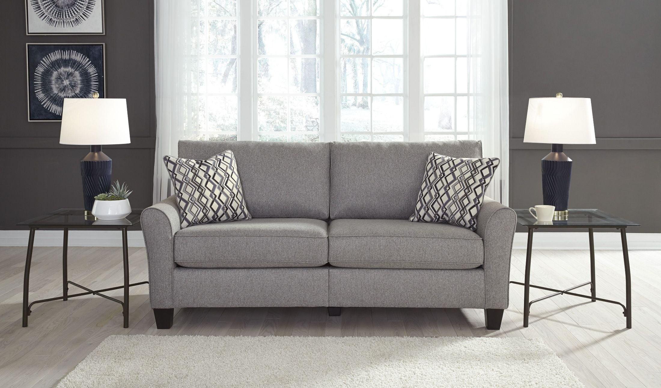 Marvelous Strehela Silver Sofa