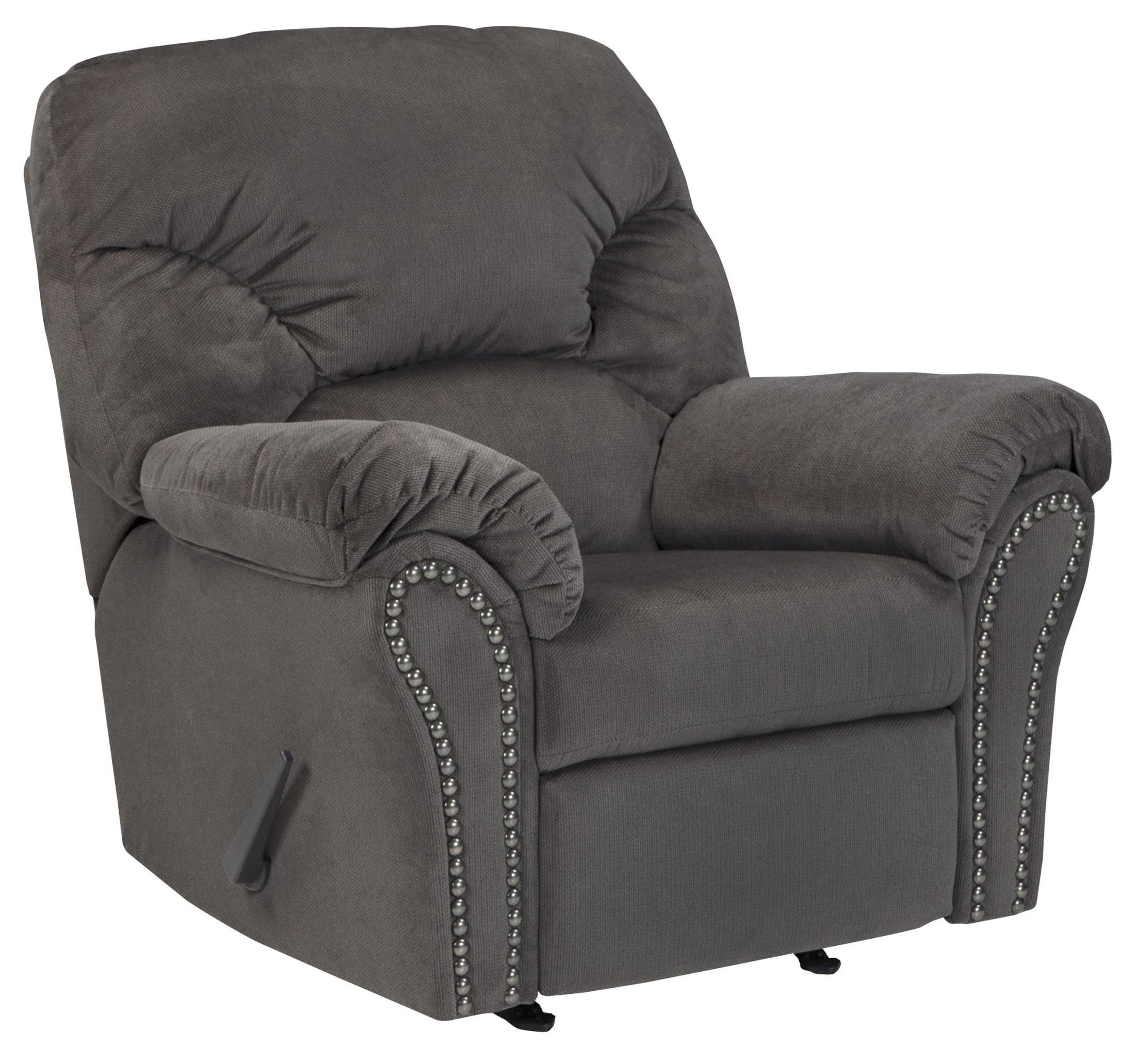 Kinlock Charcoal Rocker Recliner From Ashley 3340025