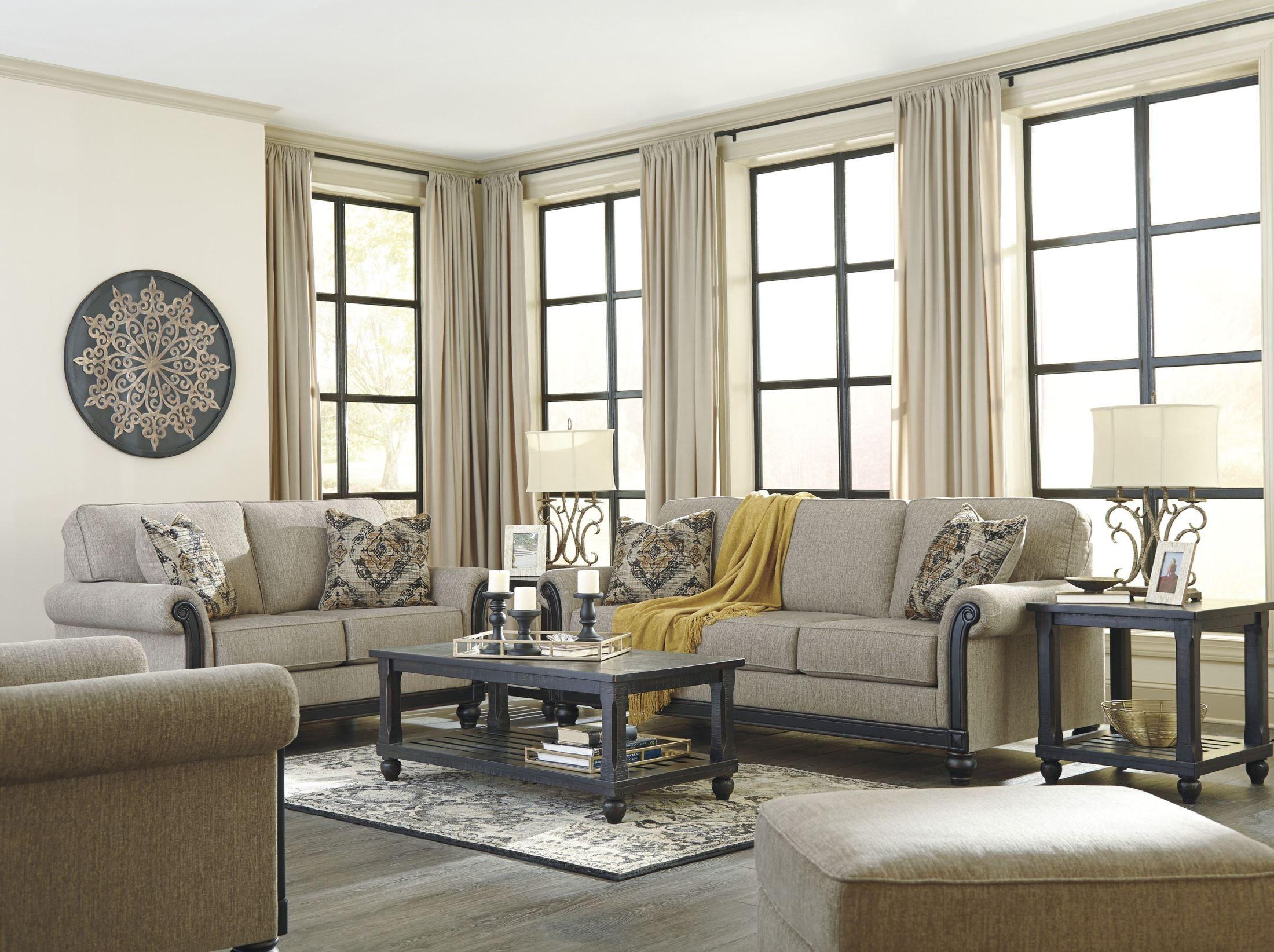 Blackwood Taupe Living Room Set 3350338 Ashley