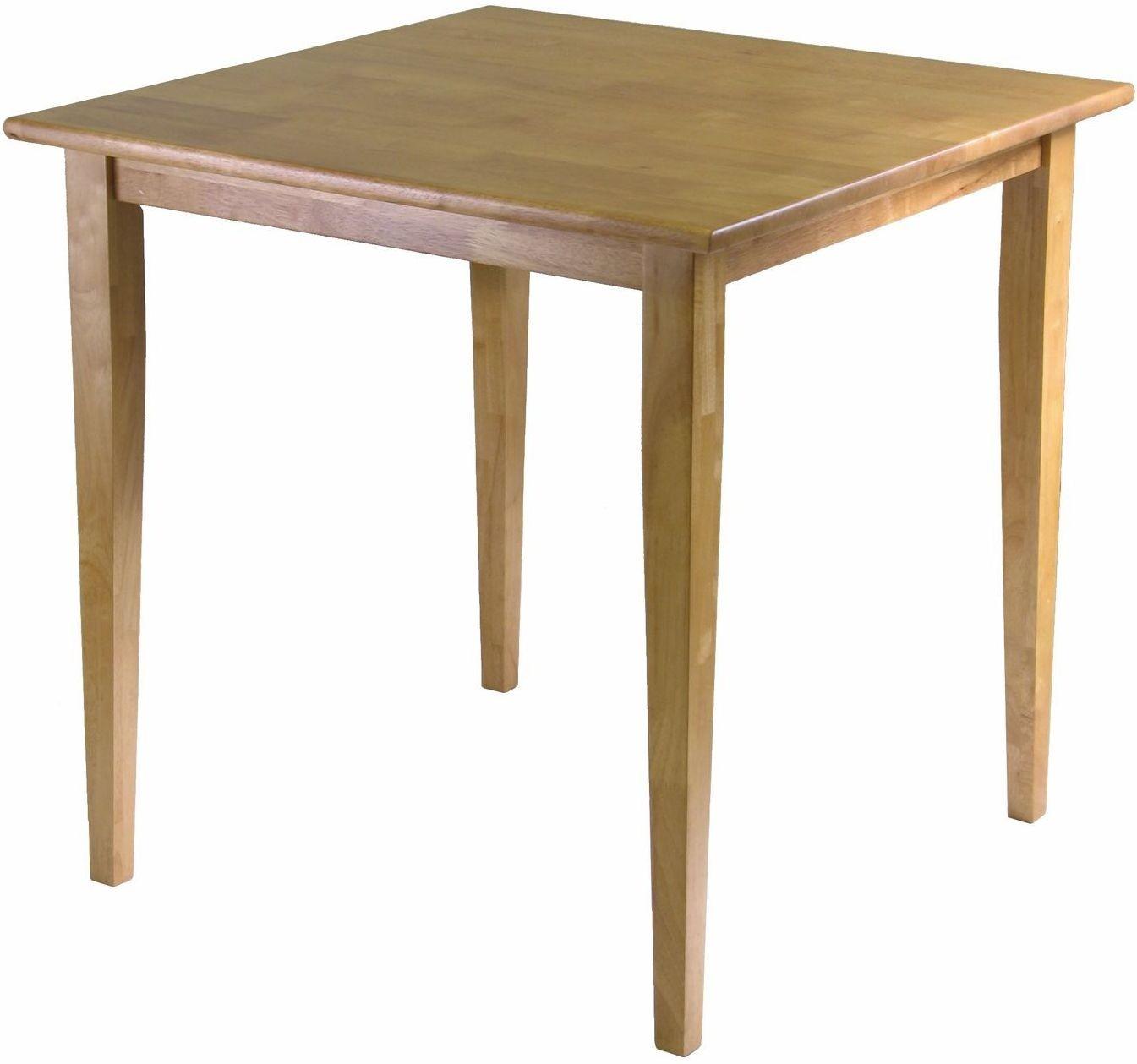 Groveland Light Oak Square Dining Table from WinsomeWood  : 34130 grovelandwinsomewoods from colemanfurniture.com size 1345 x 1259 jpeg 102kB