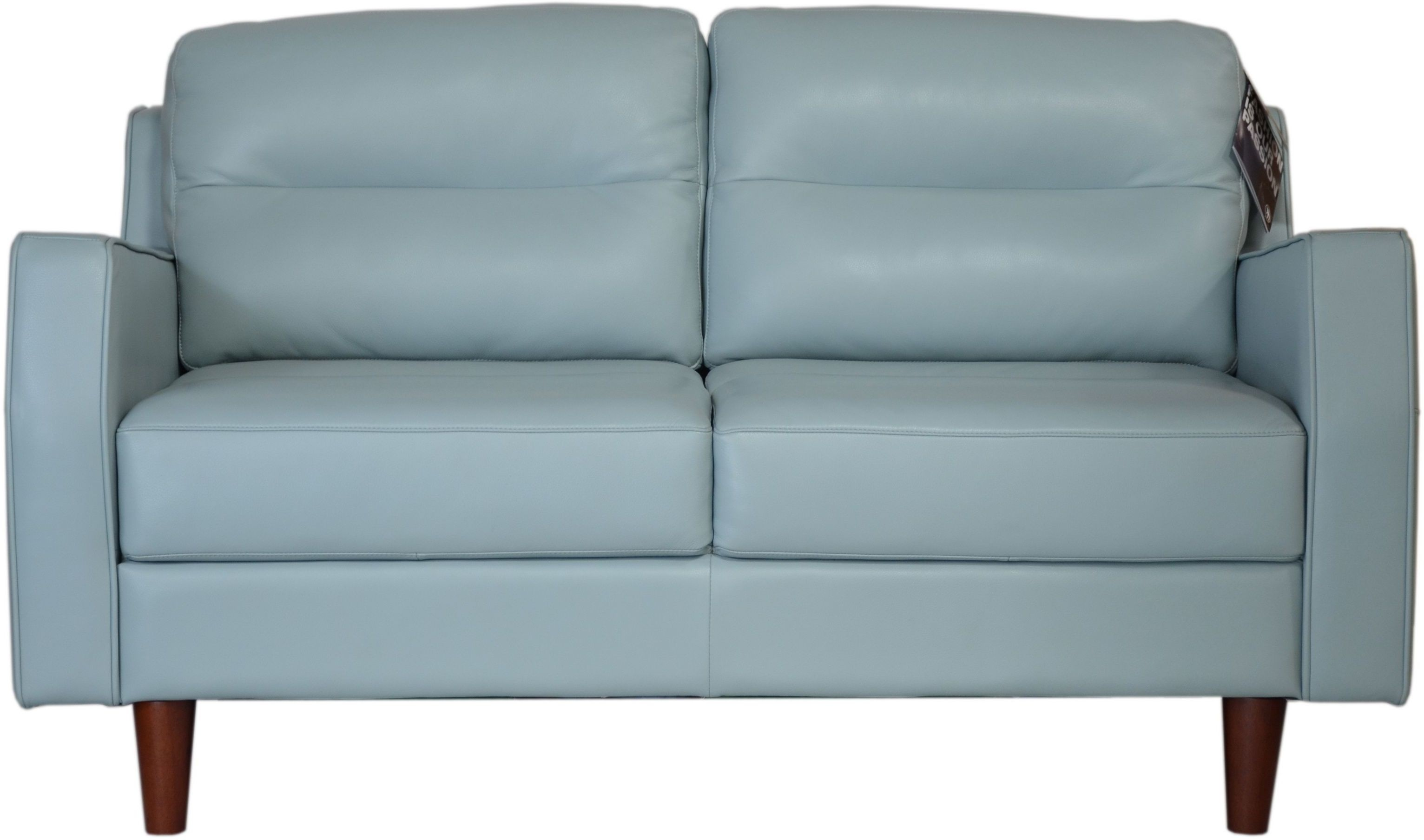 Isabel Bluette Leather Loveseat From Moroni Coleman