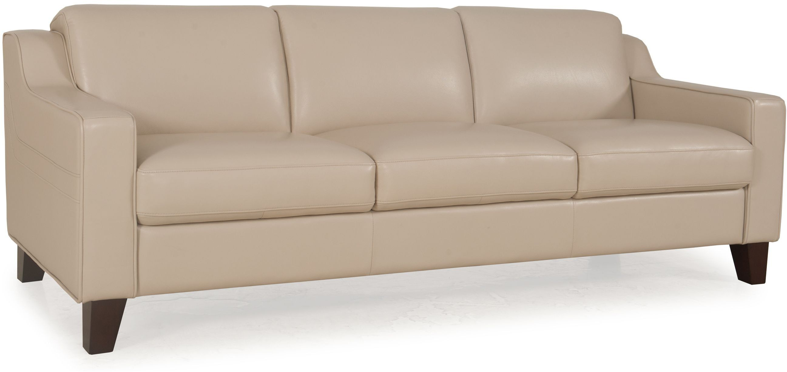 Cora Putty Top Grain Leather Sofa From Moroni Coleman
