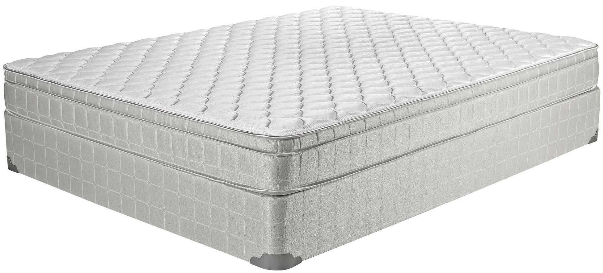 Laguna Ii Gray Twin Long Innerspring Mattress From Coaster Coleman Furniture