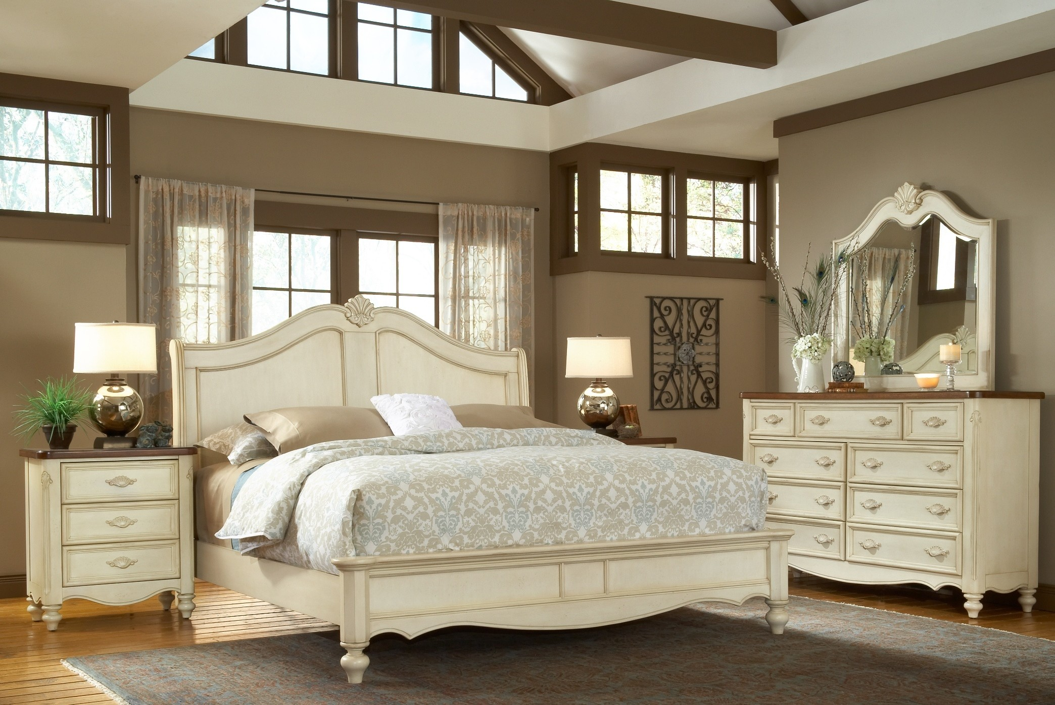 Chateau Bedroom Collection From American Woodcrafters. 2292762