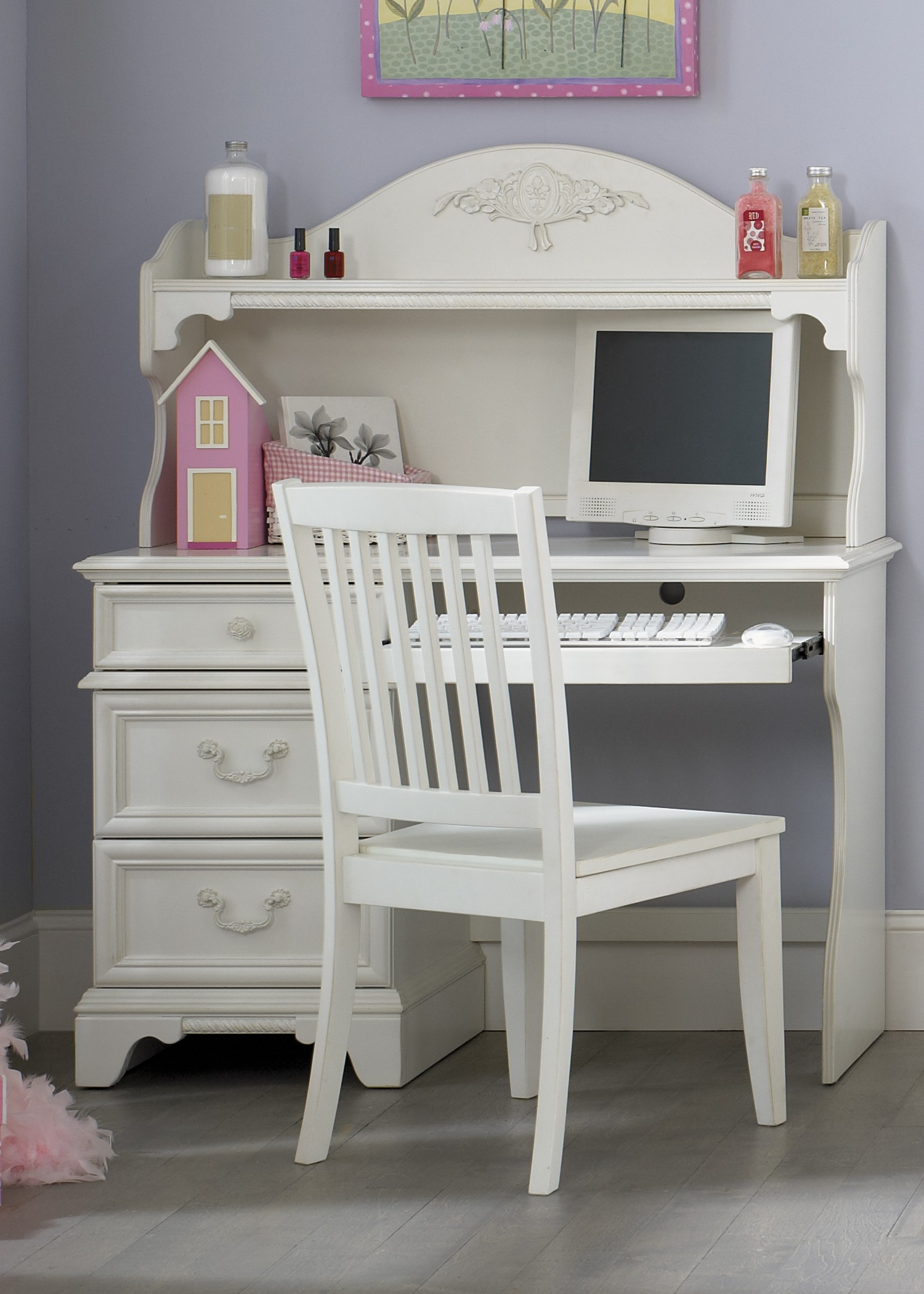 Arielle Student Desk With Hutch From Liberty 352 Ybr Sd