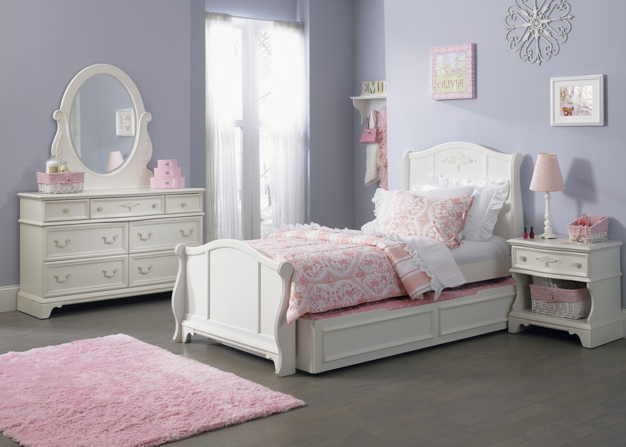 Arielle Youth Sleigh Bedroom Set from Liberty 352 YBR TSL