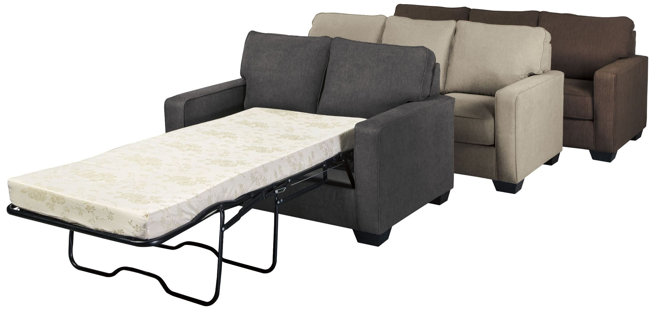 Zeb Espresso Twin Sofa Sleeper 3590337 Ashley