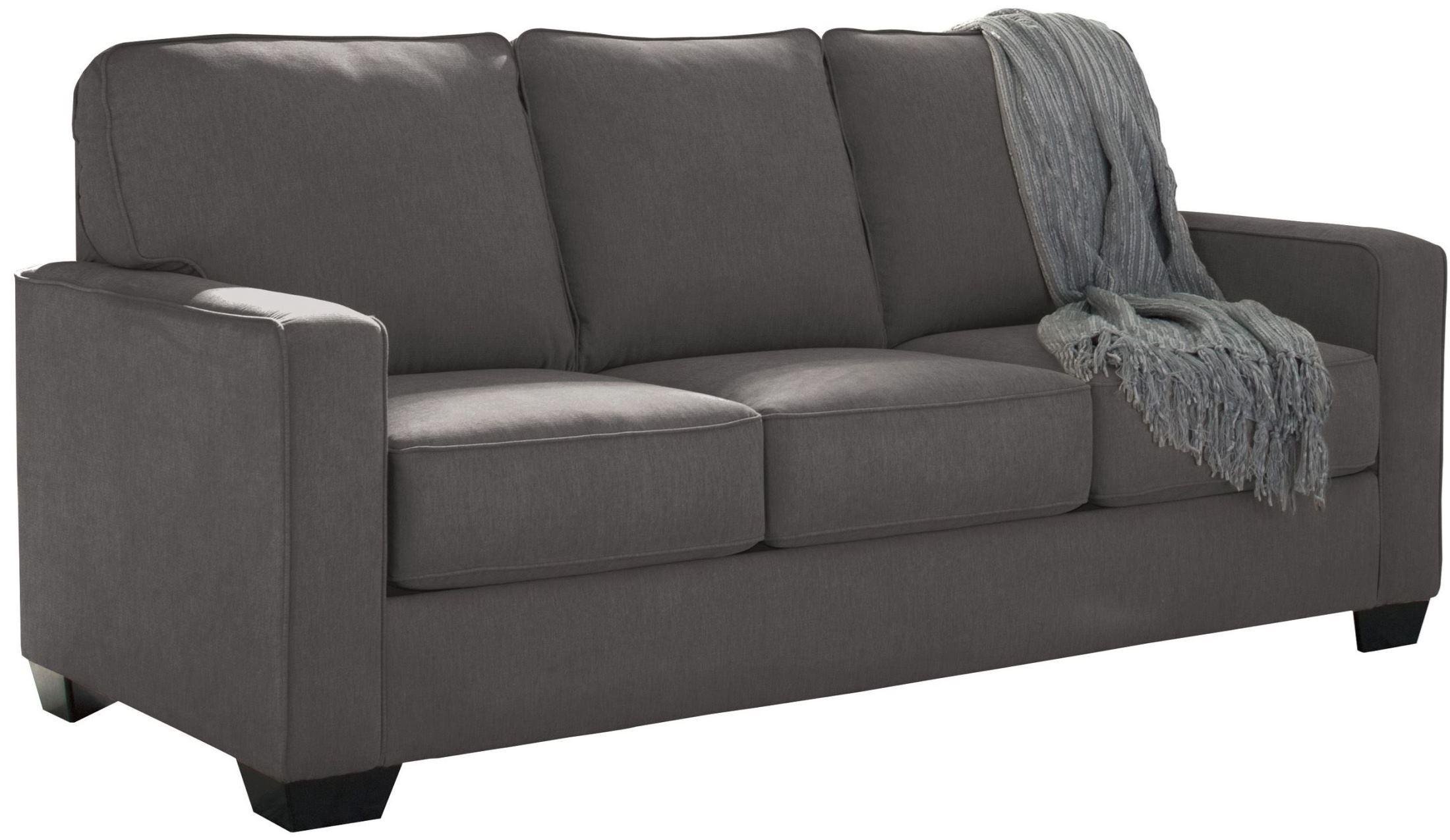 Zeb Charcoal Full Sofa Sleeper 3590136 Ashley
