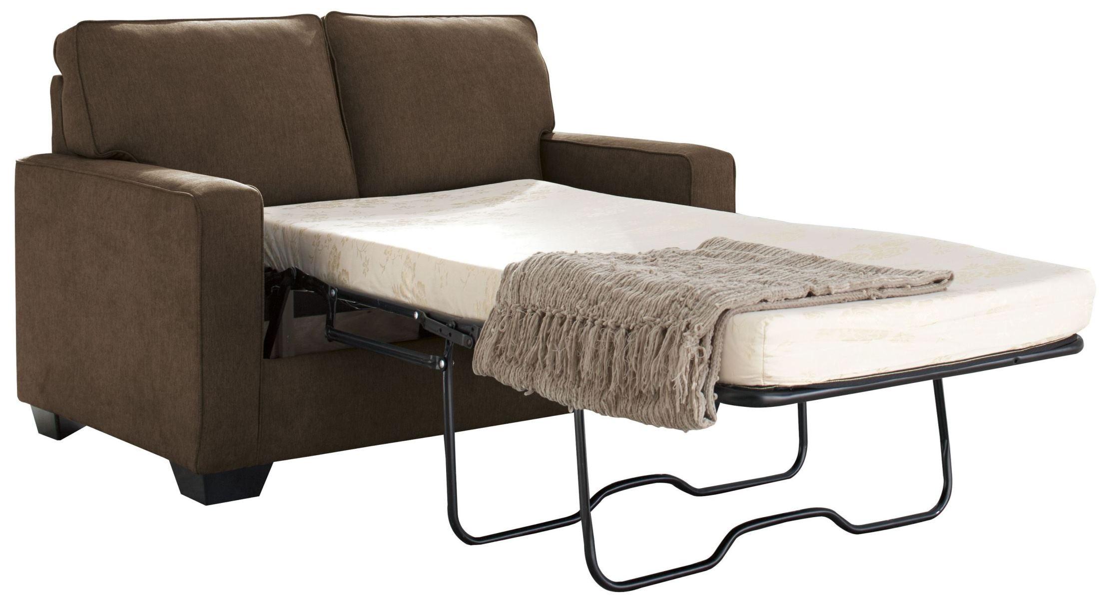 Zeb Espresso Twin Sofa Sleeper From Ashley Coleman Furniture