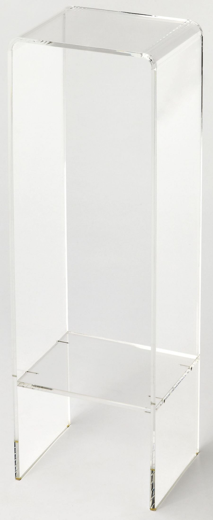 Crystal Clear Acrylic Plant Stand From Butler Coleman