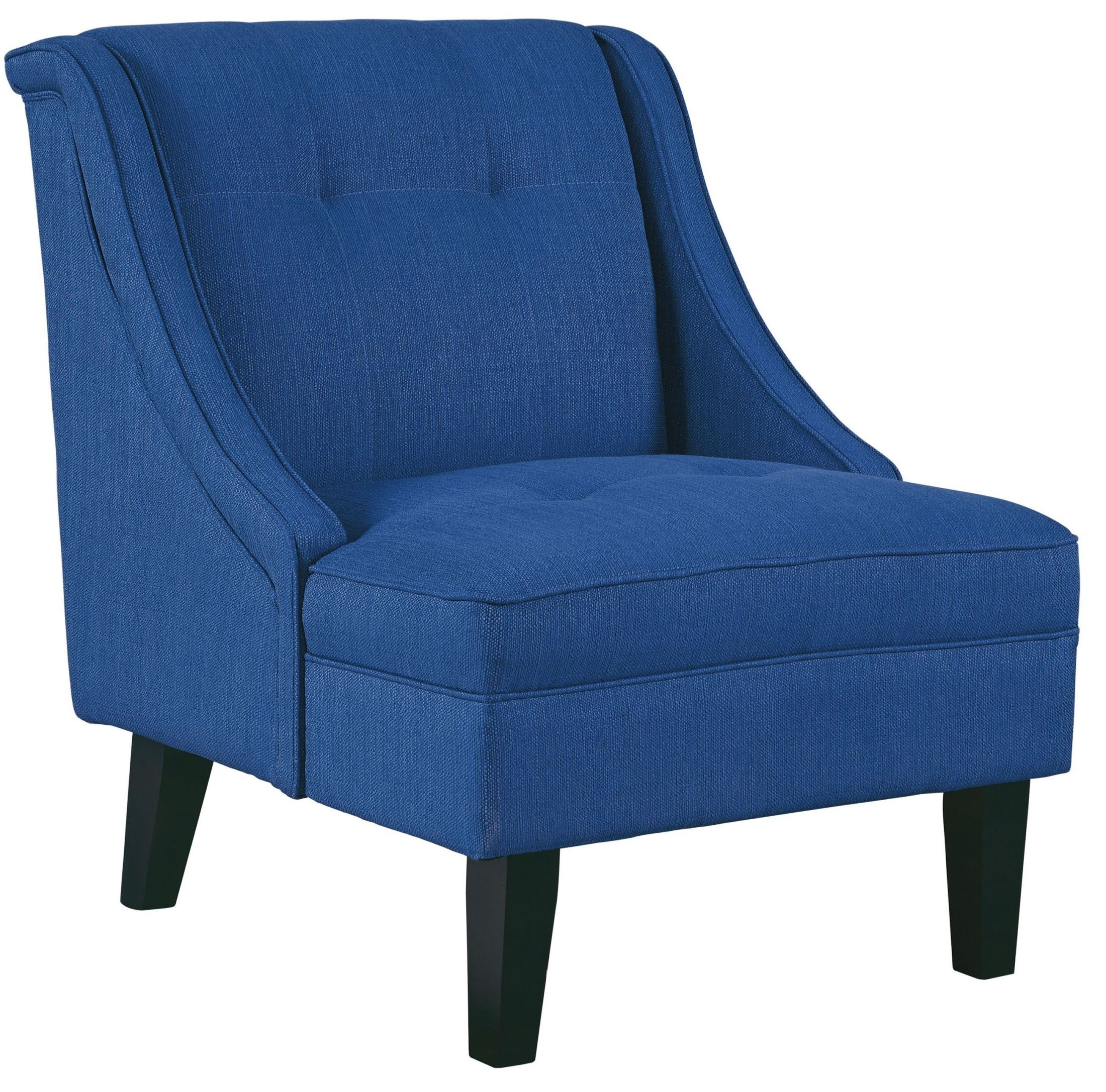 Blue Accent Chair: Clarinda Blue Accent Chair From Ashley (3623260)