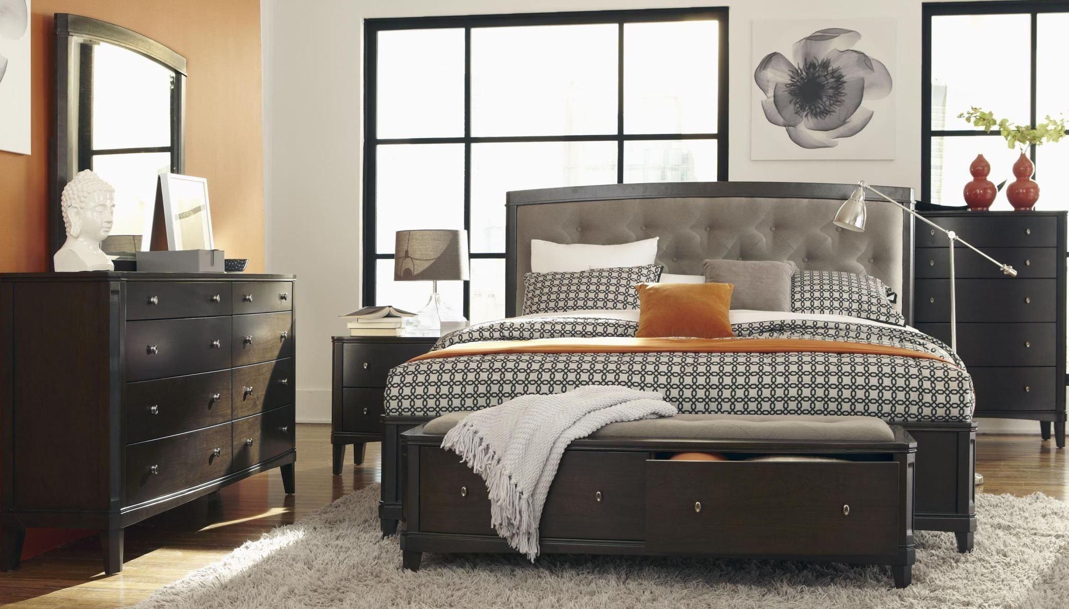 Juliette Mink Upholstered Panel Bedroom Set From Casana Coleman Furniture