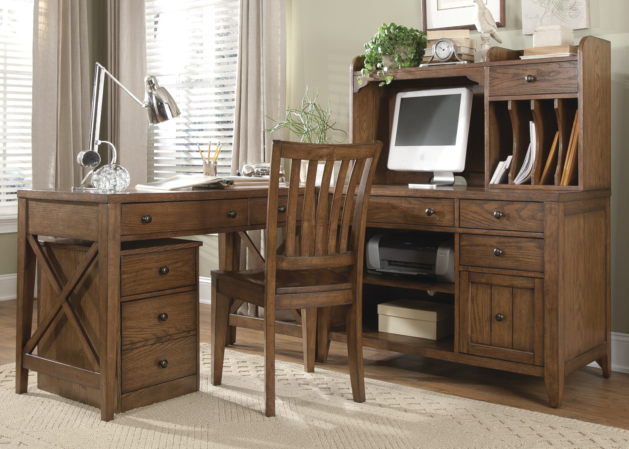 hearthstone home office set from liberty coleman furniture
