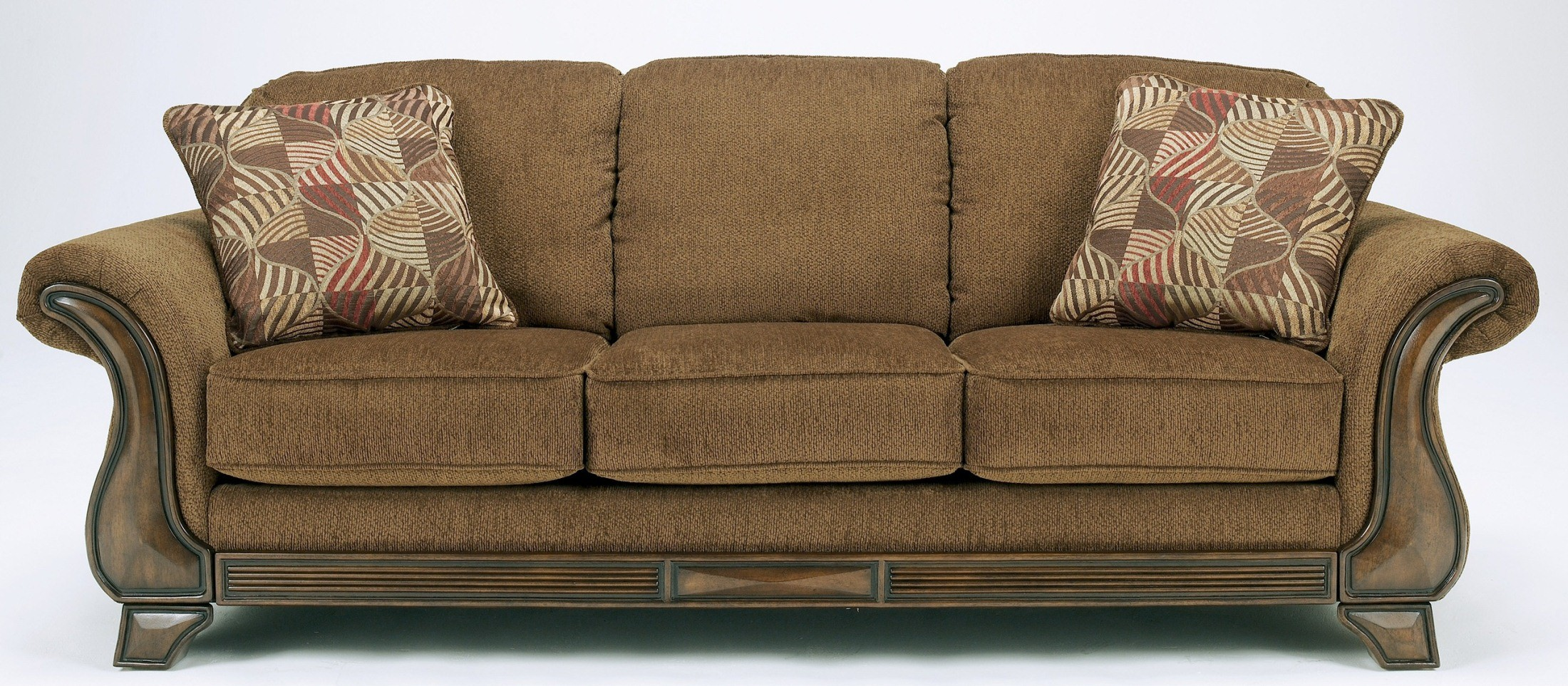 Montgomery Mocha Sofa From Ashley 3830038 Coleman
