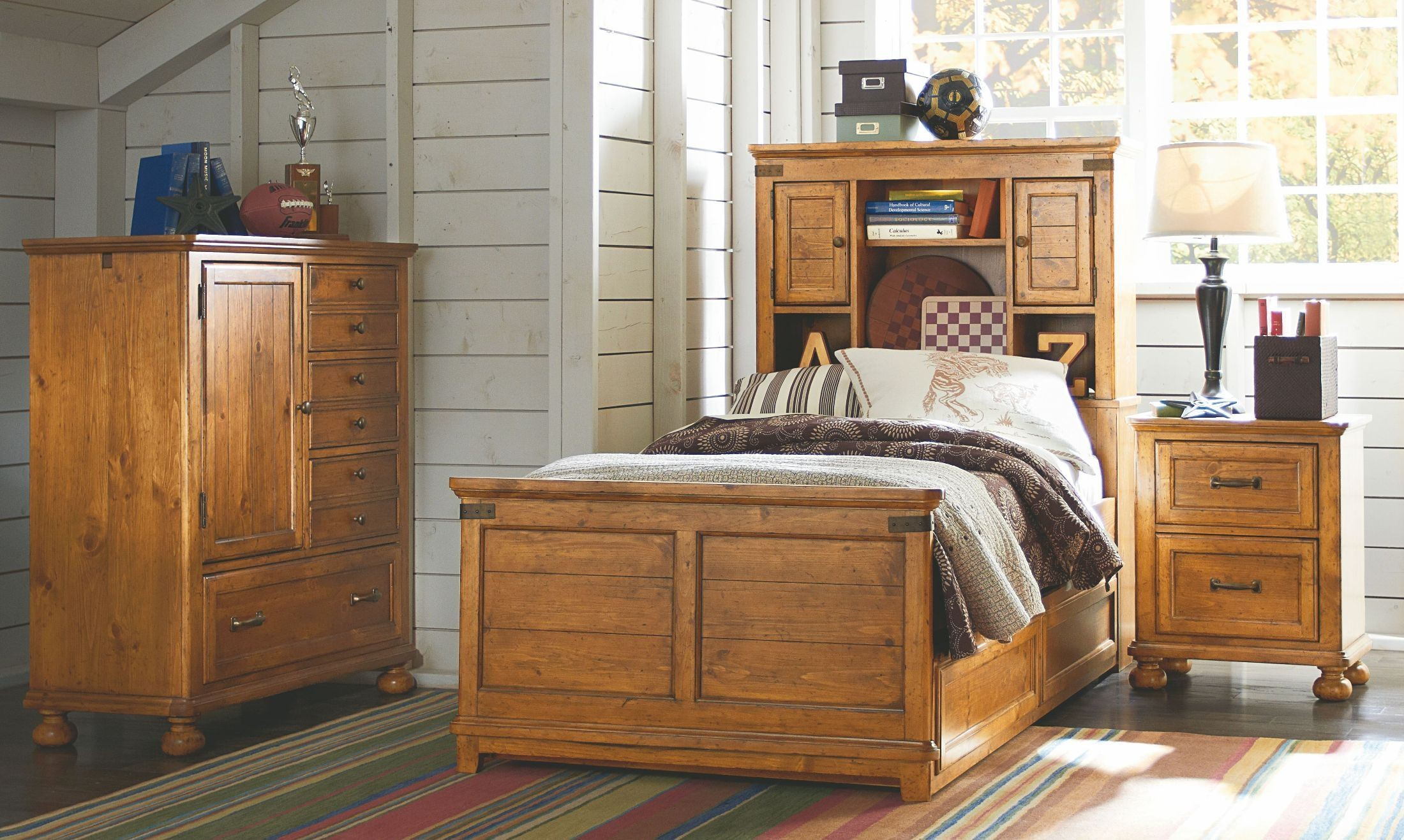 Bryce Canyon Youth Bookcase Bedroom Set From Legacy Kids